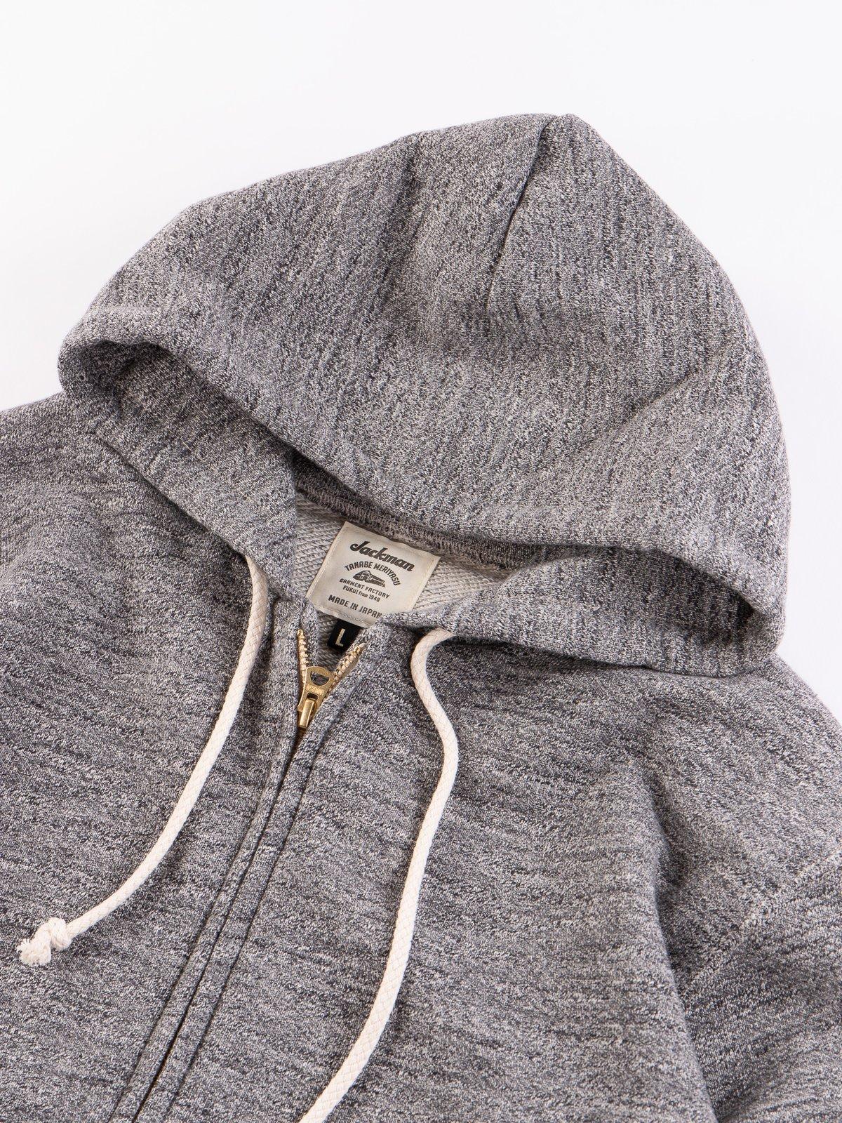Charcoal GG Full Zip Sweatshirt - Image 5