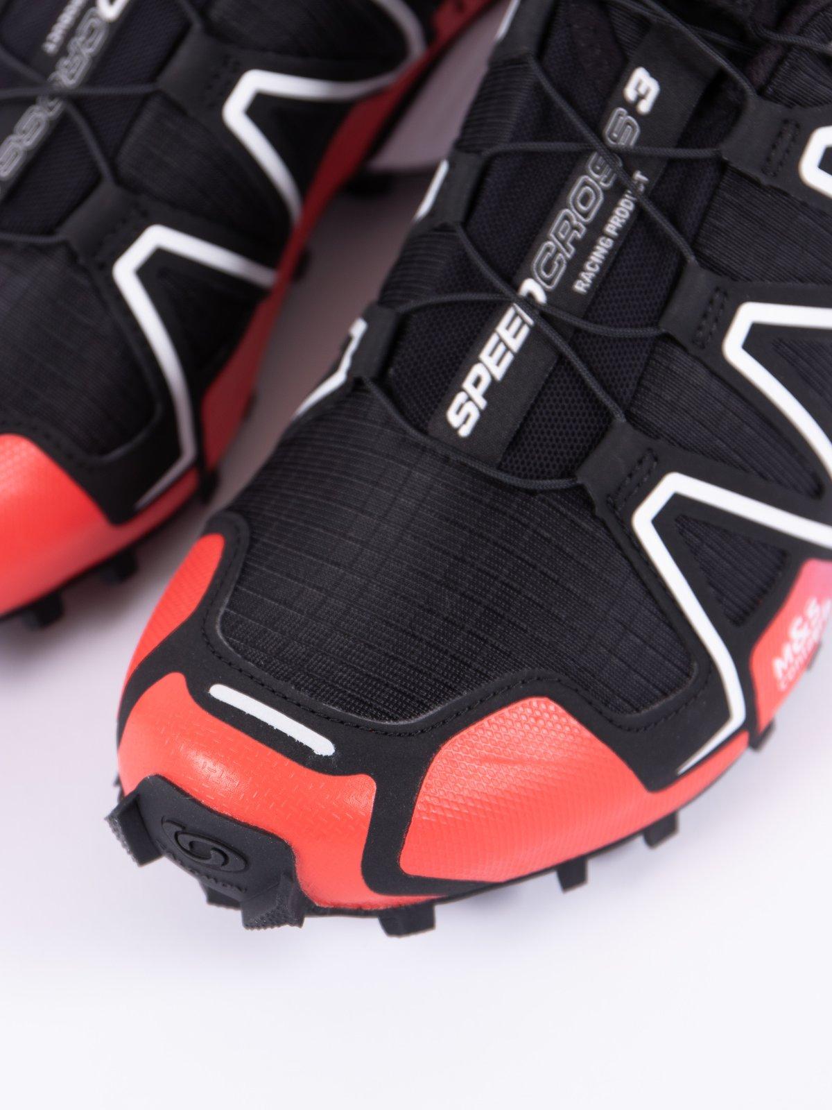 Black/Red/Transcend Blue Speedcross 3 Adv - Image 3