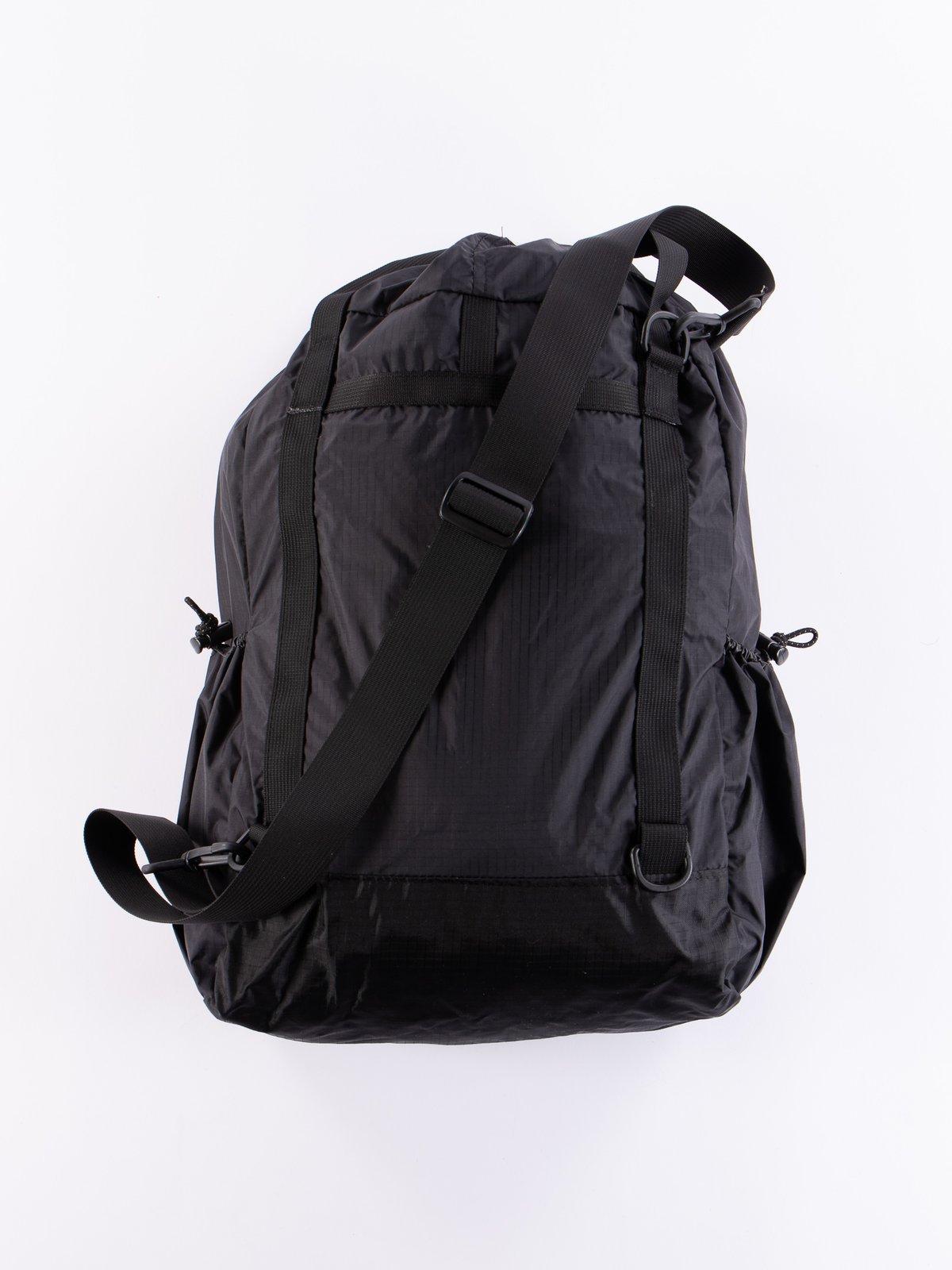 Black Nylon Ripstop UL 3 Way Bag - Image 3