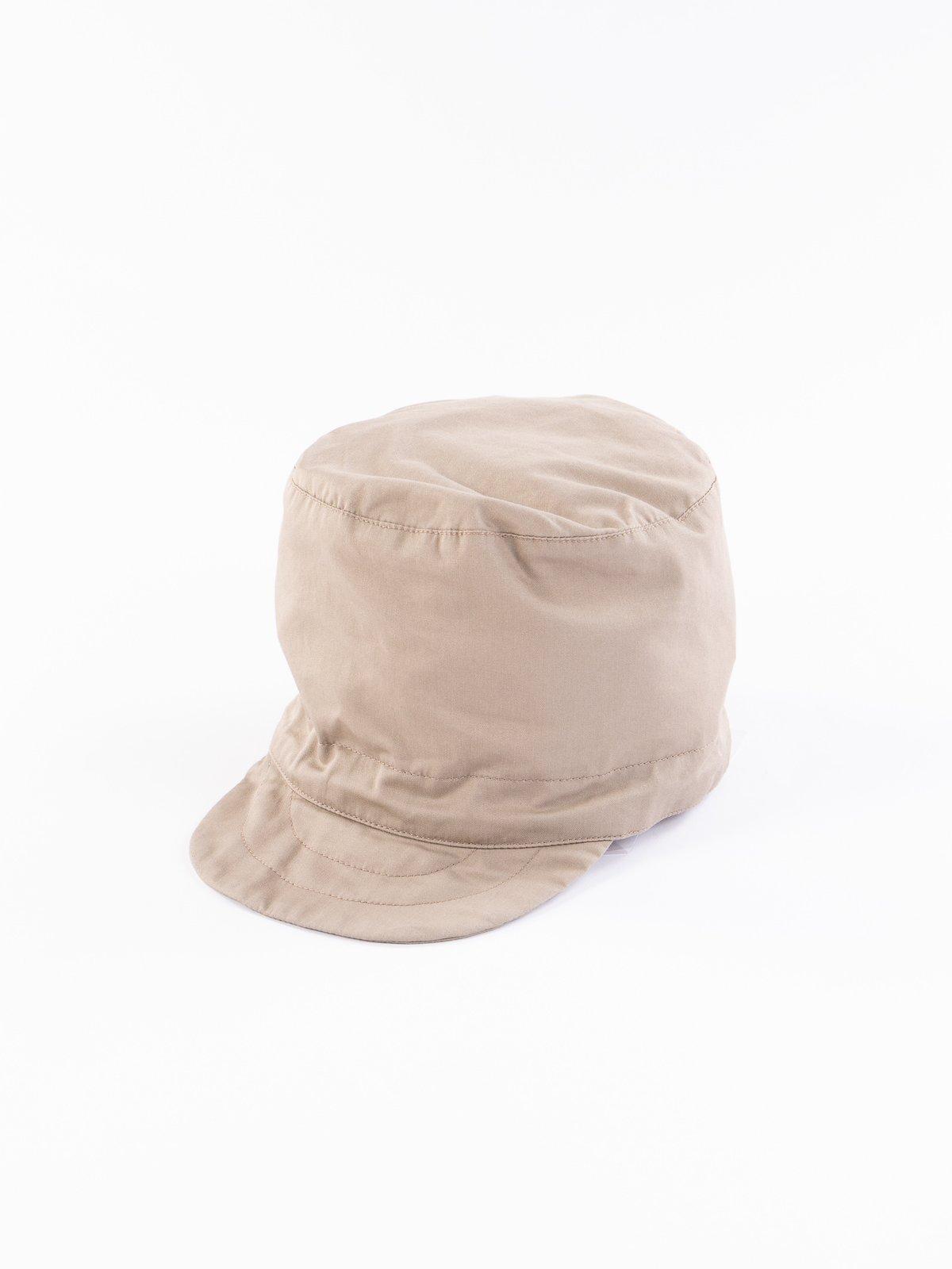 Khaki Highcount Twill FM Cap - Image 1