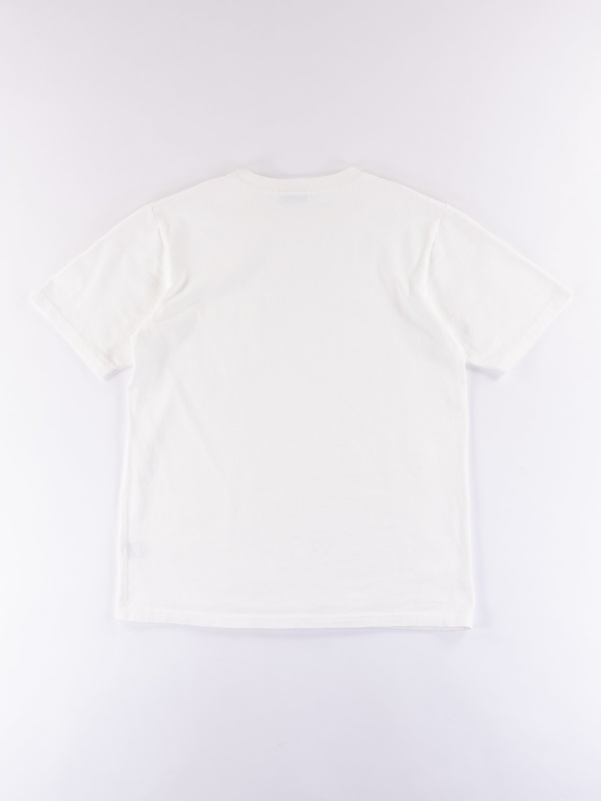 White Heavy Oz Pocket Tee - Image 5