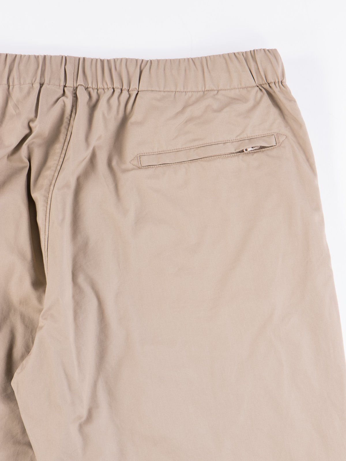 Khaki Highcount Twill Drawstring Pant - Image 6