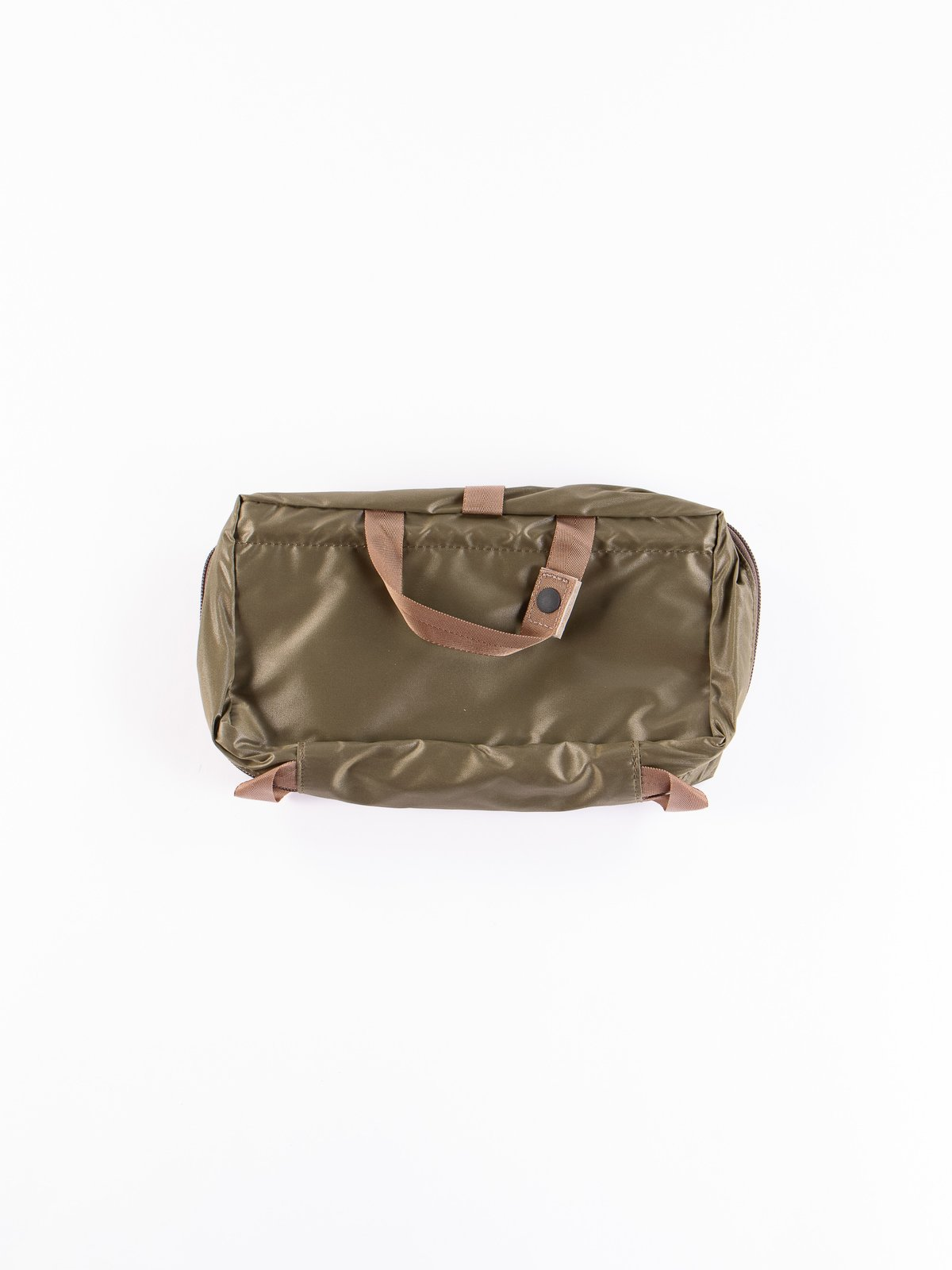 Olive Drab Snack Pack 09811 Cosme Pouch - Image 3