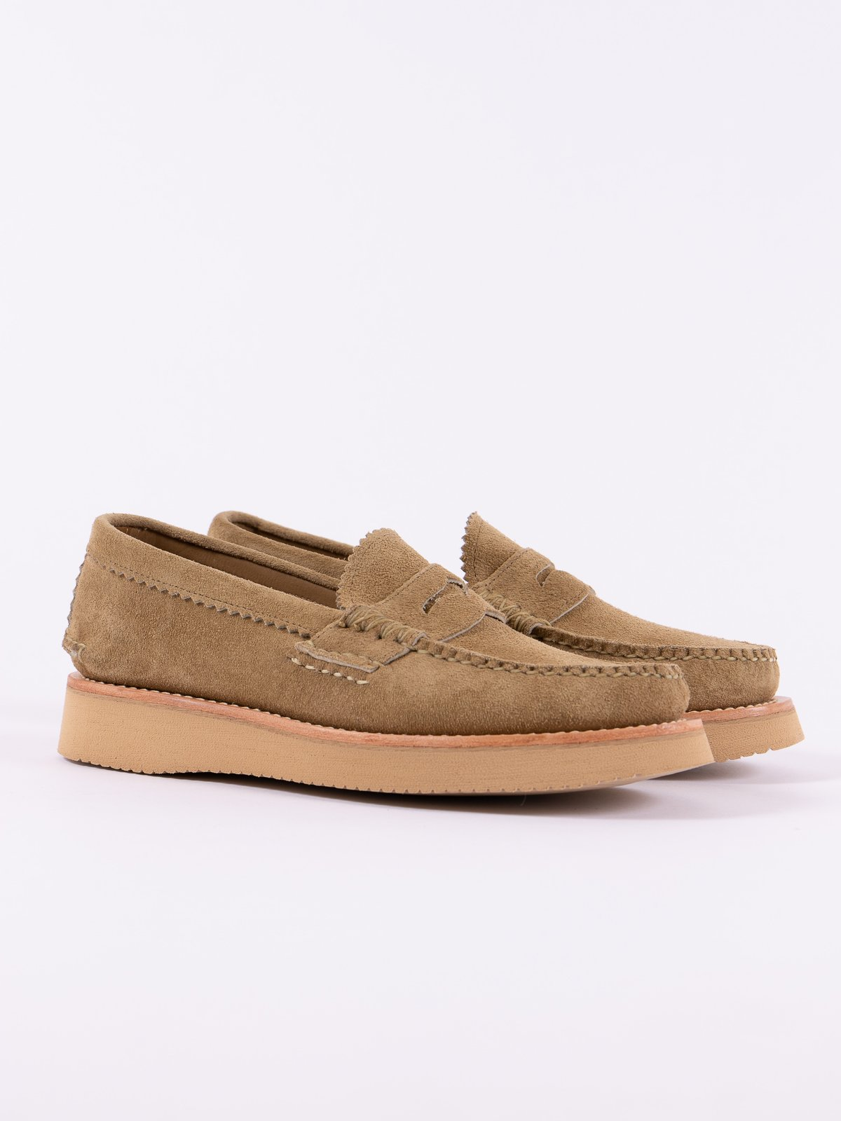 FO Khaki Loafer Shoe Exclusive - Image 1