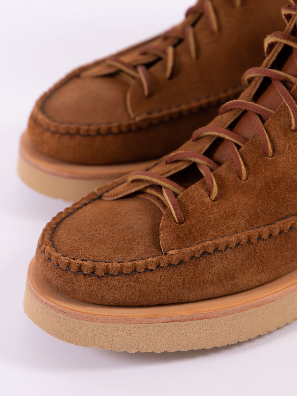 Golden Brown All Handsewn Sneaker Moc High Boot - Image 4