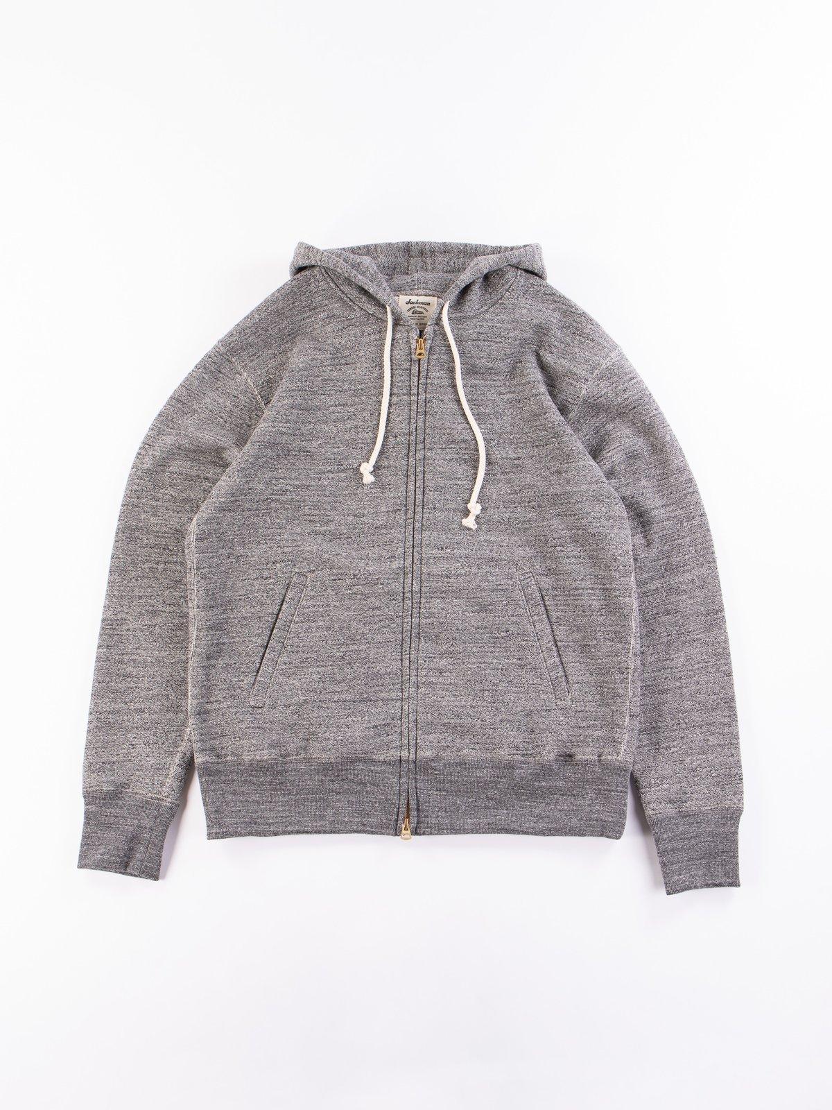 Charcoal GG Full Zip Sweatshirt - Image 1