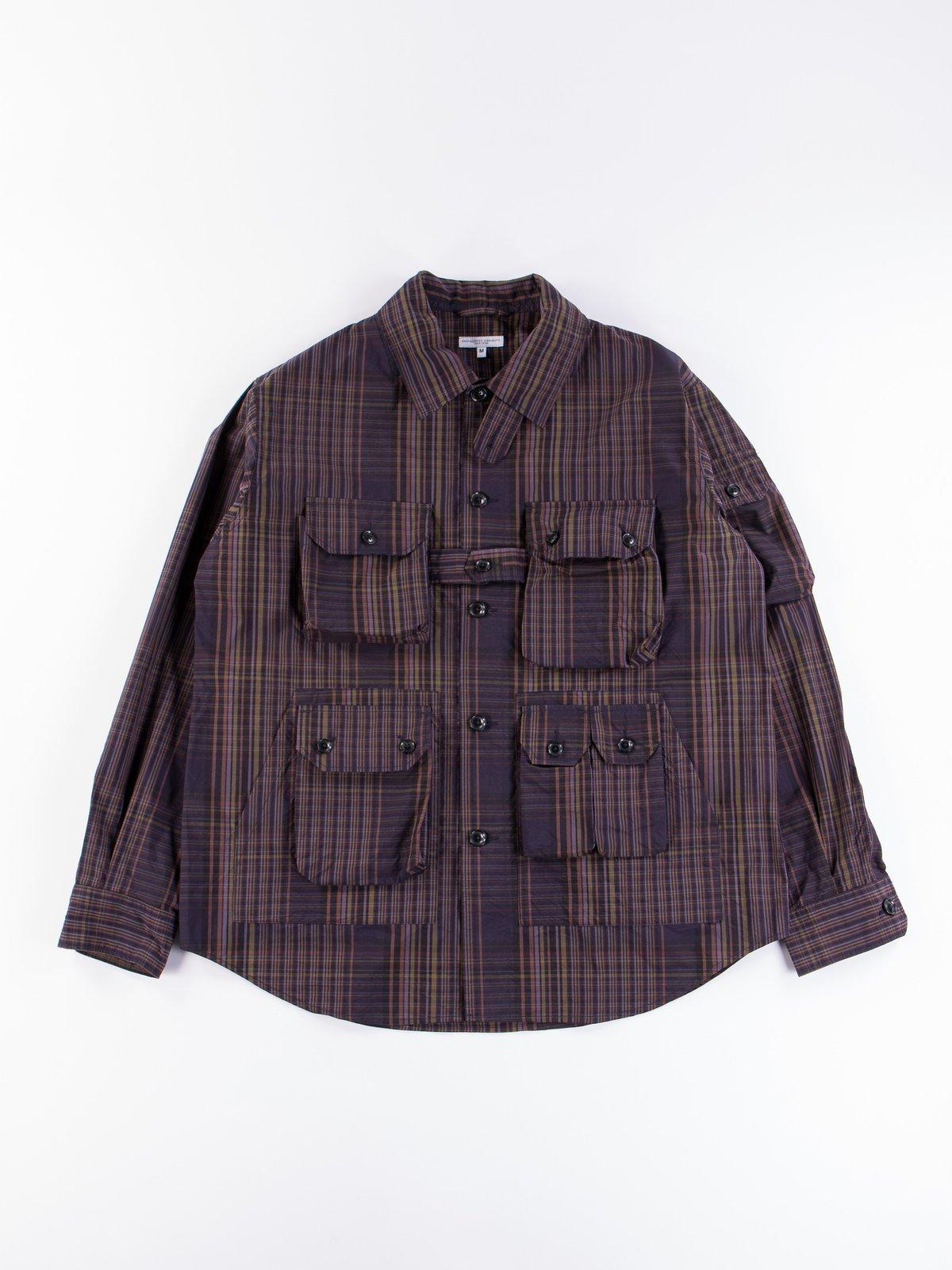 Multi Color Nyco Plaid Explorer Shirt Jacket - Image 1
