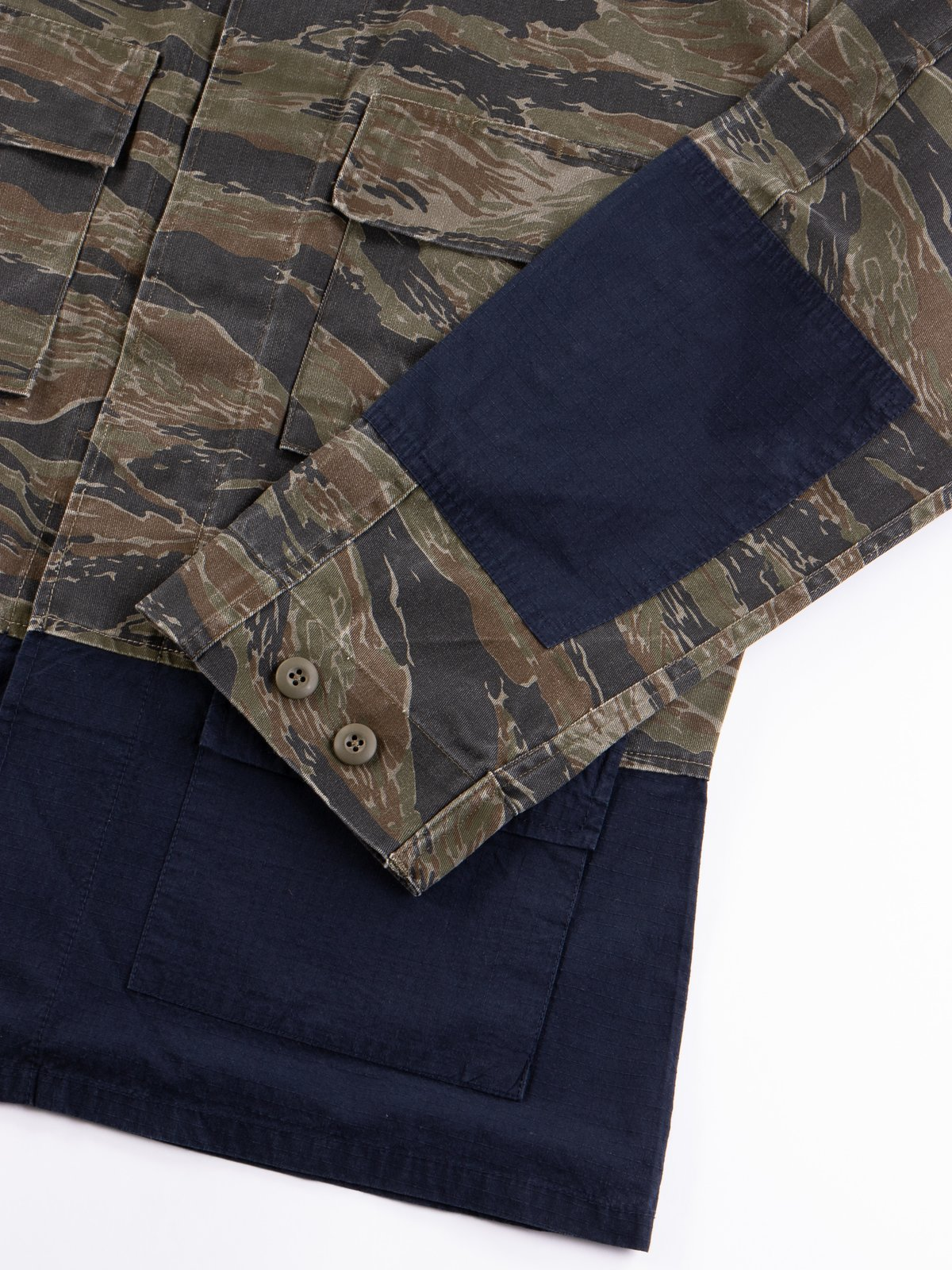 Reworks Camo/Navy Field Jacket - Image 5