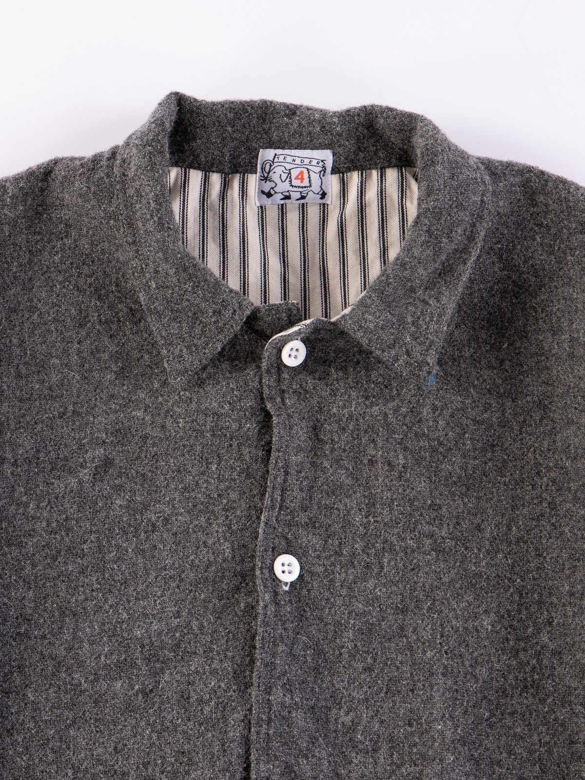 Charcoal Weavers Stock Curve Front Jacket - Image 3
