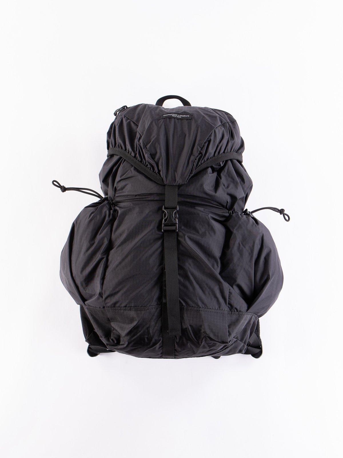 Black Nylon Ripstop UL Backpack - Image 1