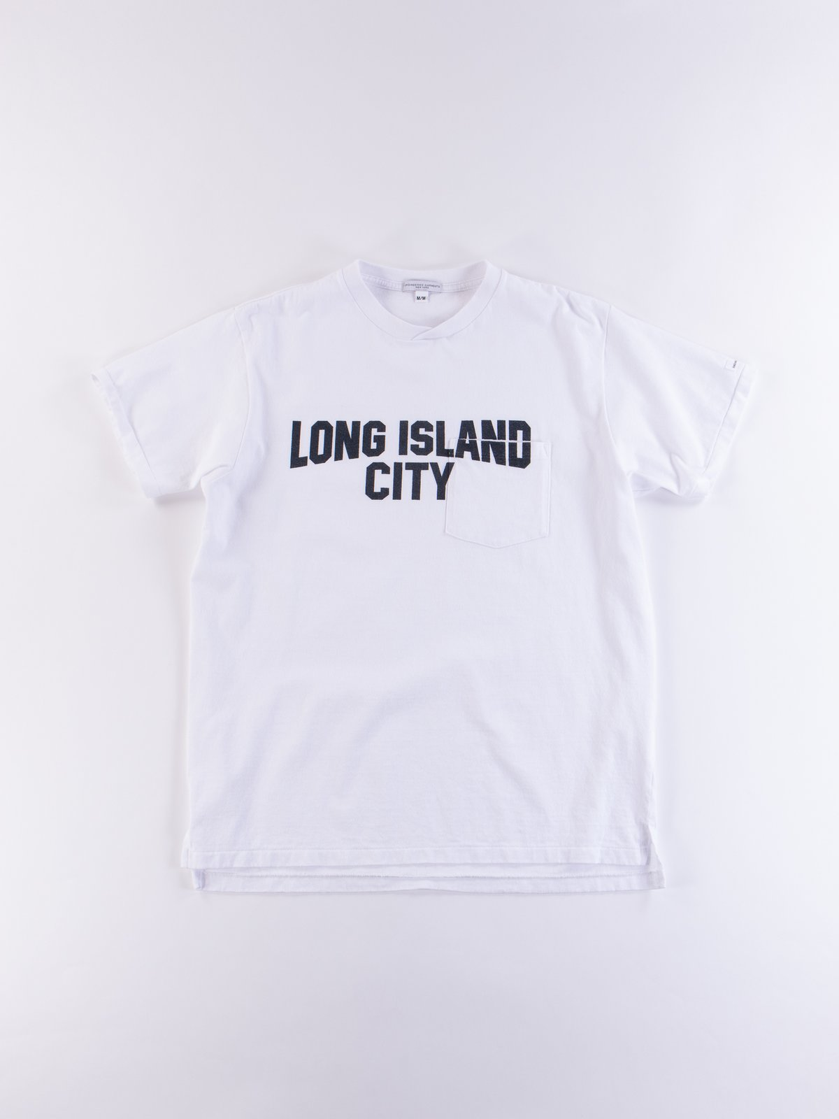 White Long Island City Printed T–Shirt - Image 1