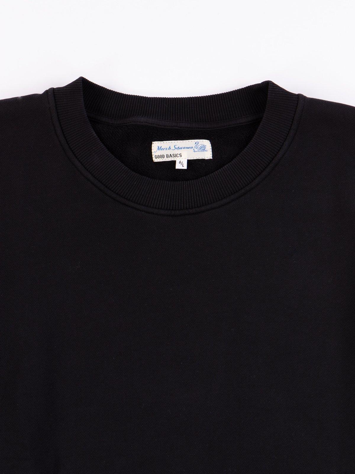 Deep Black Good Basics CSWOS01 Oversized Crew Neck Sweater - Image 3