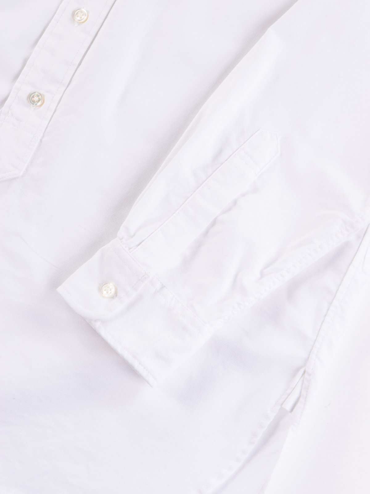 White Cotton Oxford 19th Century BD Shirt - Image 4