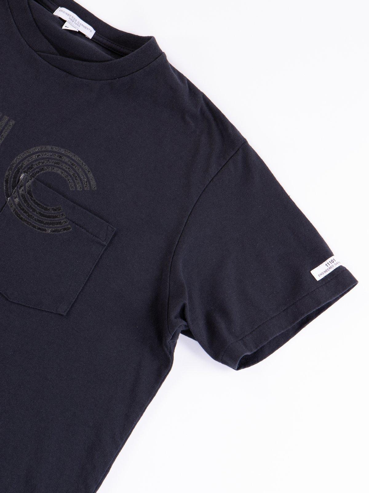 Navy LIC Printed T–Shirt - Image 4