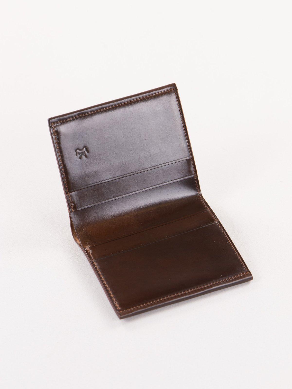 Cognac Horween Cordovan 2–2 Wallet - Image 2