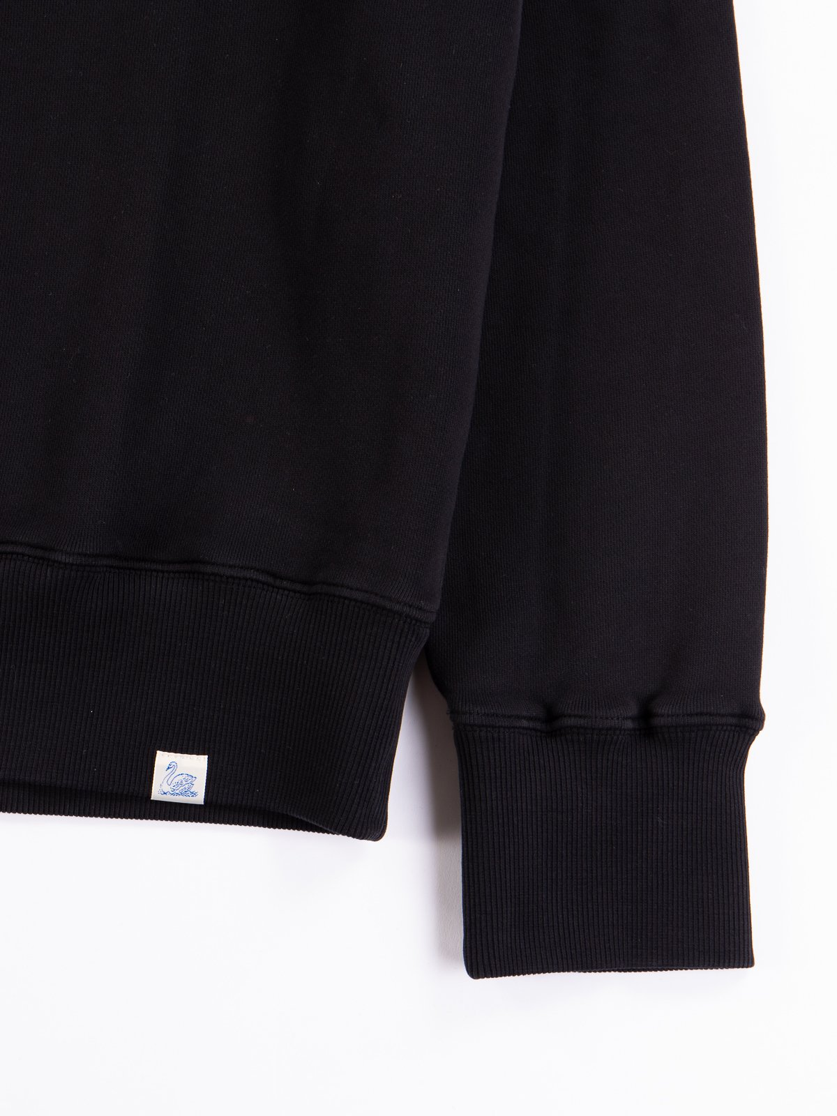 Deep Black Good Basics CSWOS01 Oversized Crew Neck Sweater - Image 4