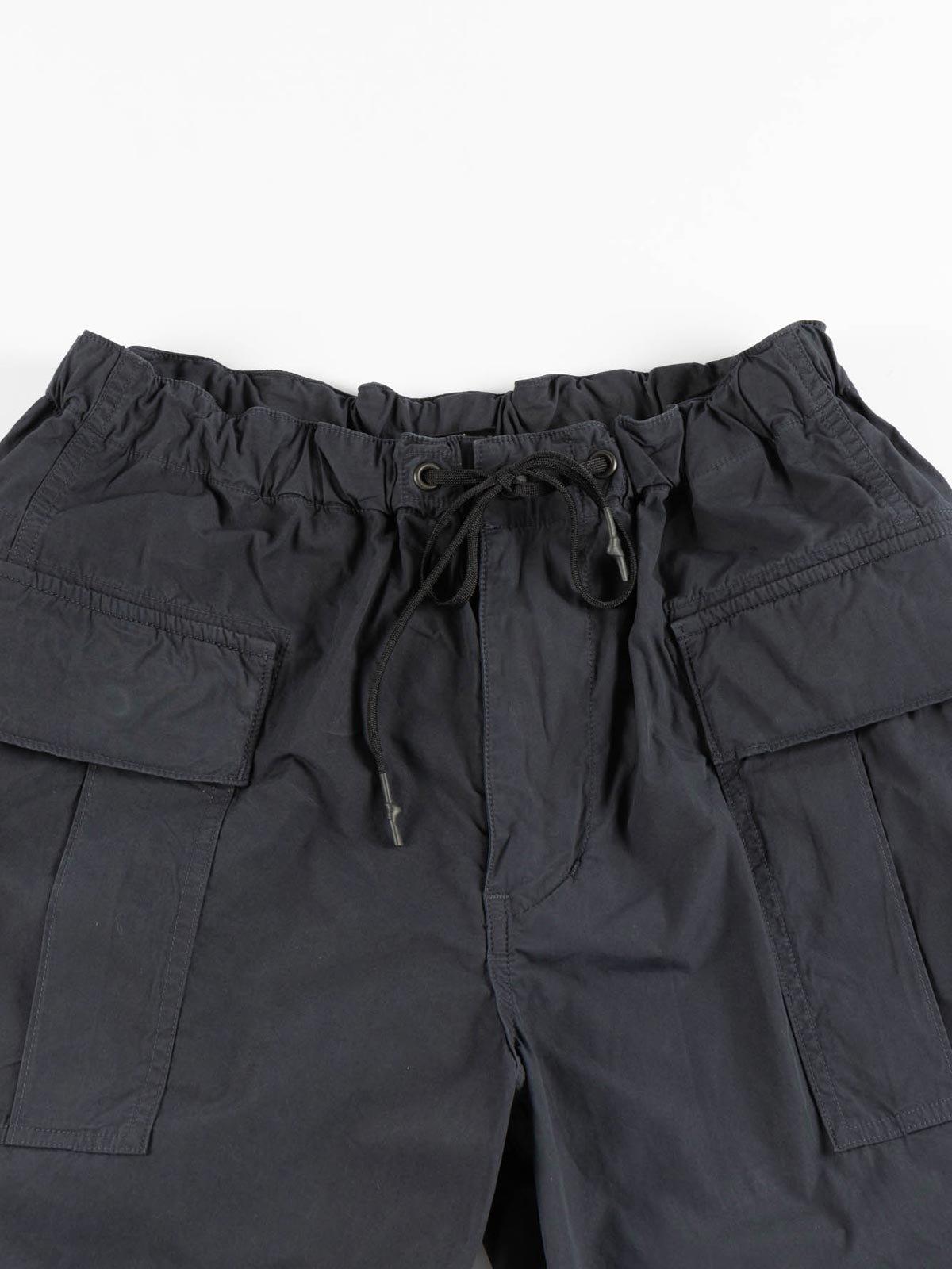 EASY CARGO SHORTS NAVY TYPEWRITER CLOTH - Image 2