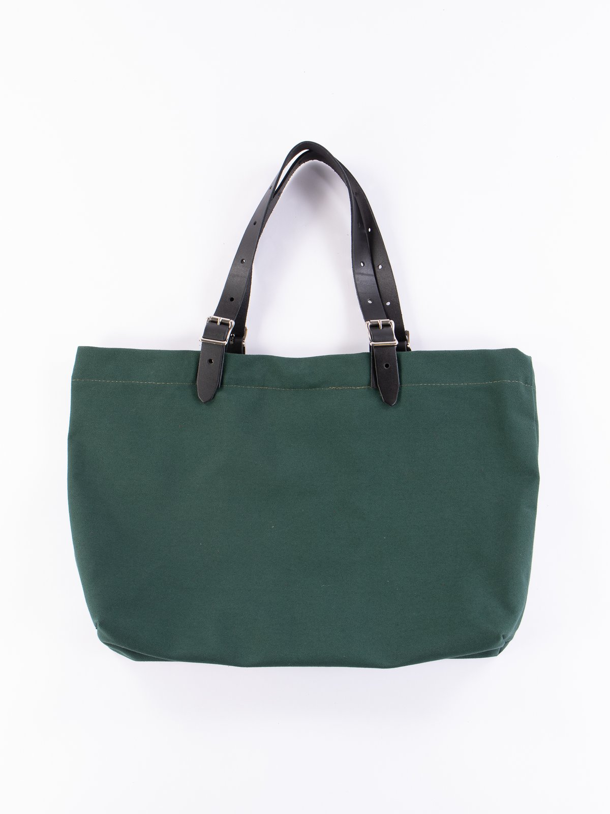 Hunter Green 18oz Canvas Canal Park Tote - Image 3