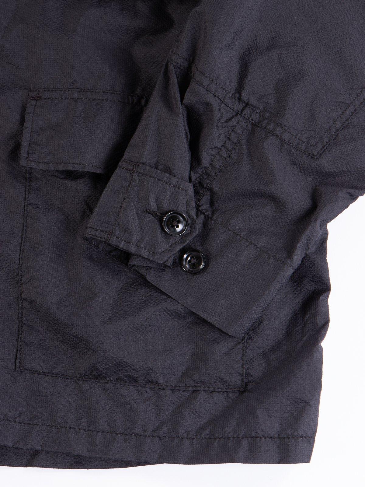 Black Nylon Micro Ripstop BDU Jacket - Image 4