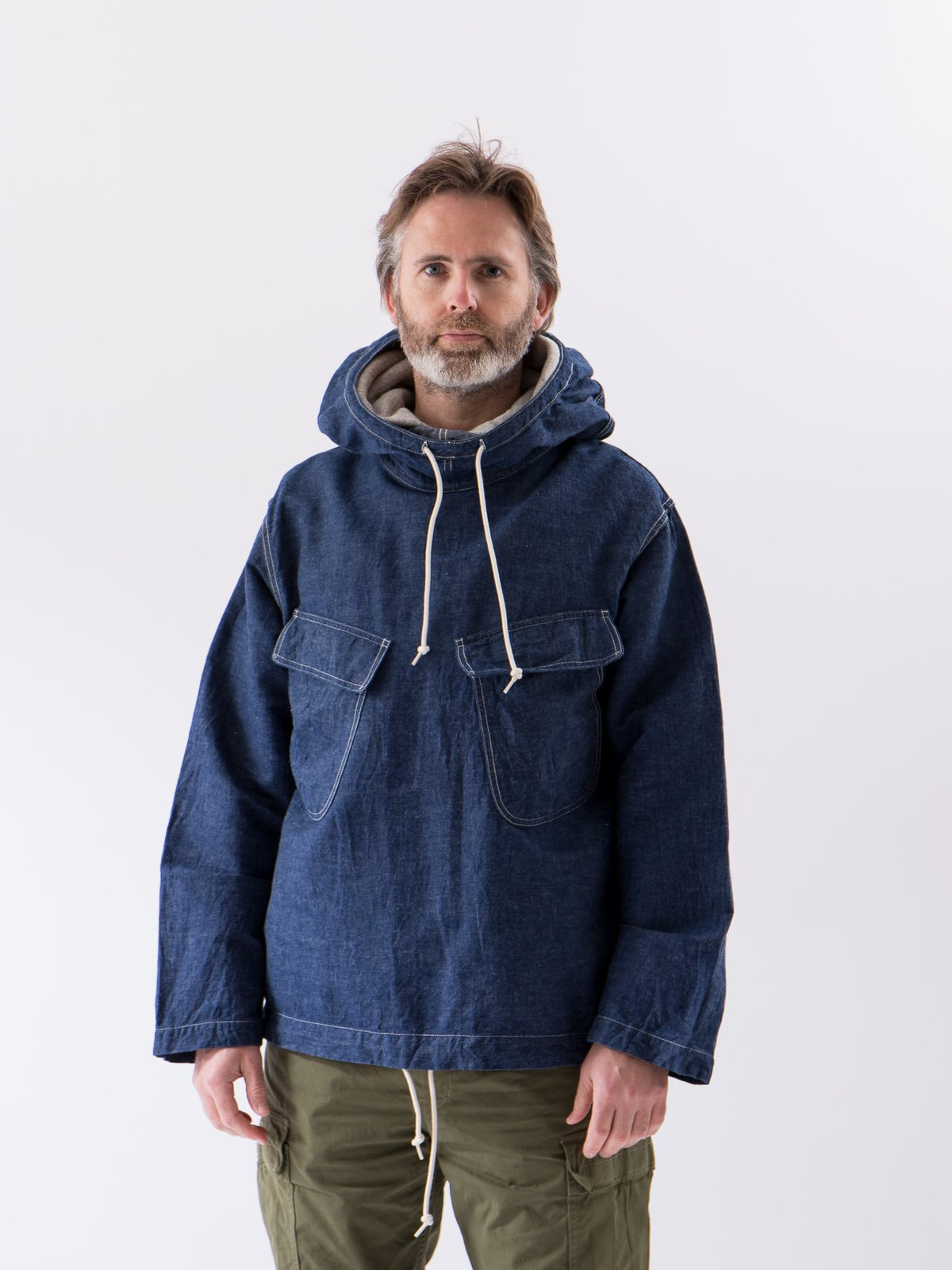 One Wash US Navy Salvage Hooded Parka - Image 2
