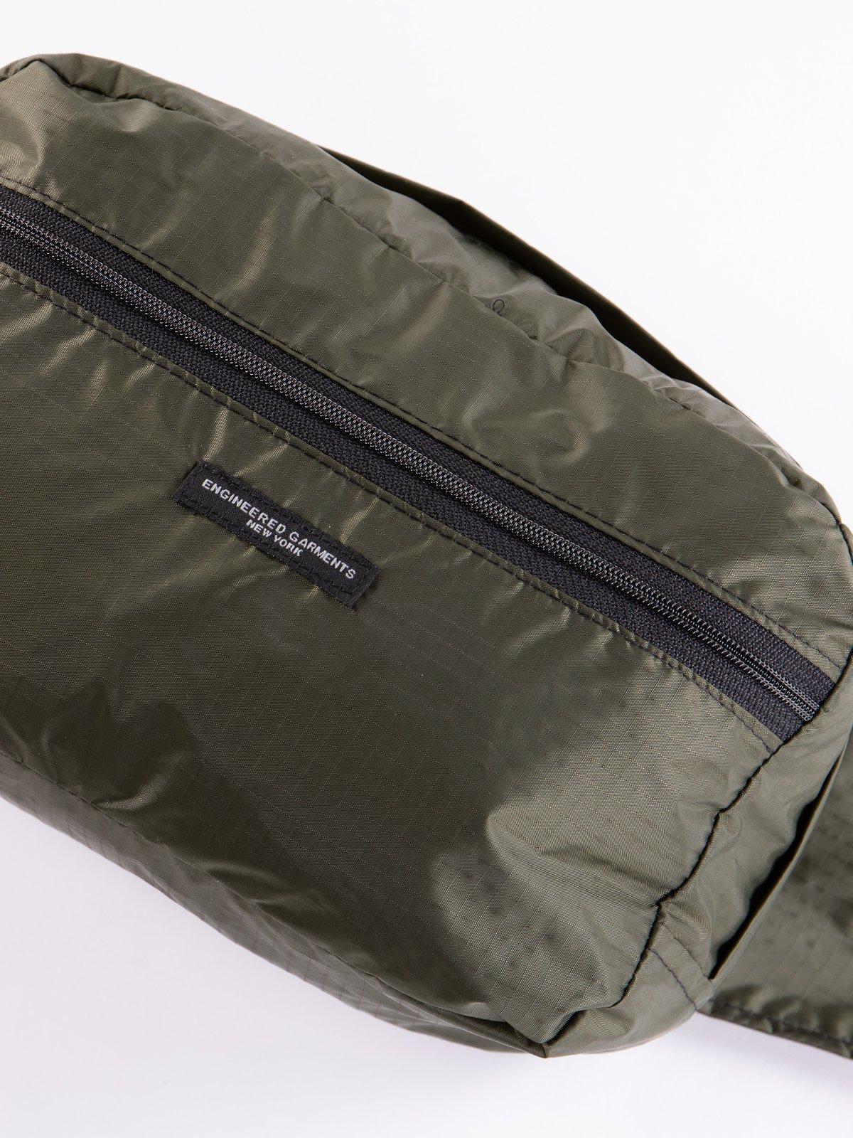 Olive Nylon Ripstop UL Waistpack - Image 2