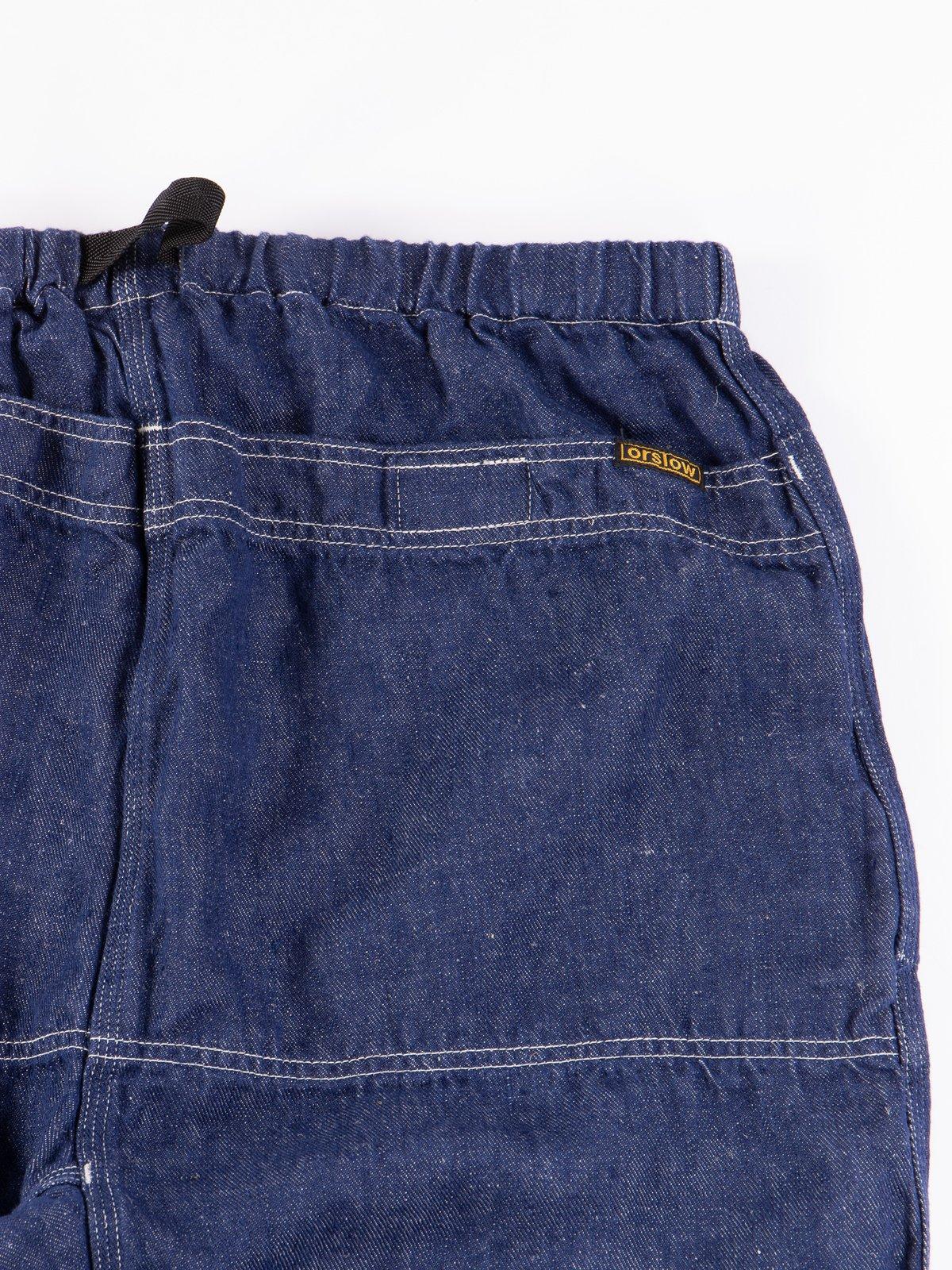 One Wash Linen Denim Climbing Pant - Image 7