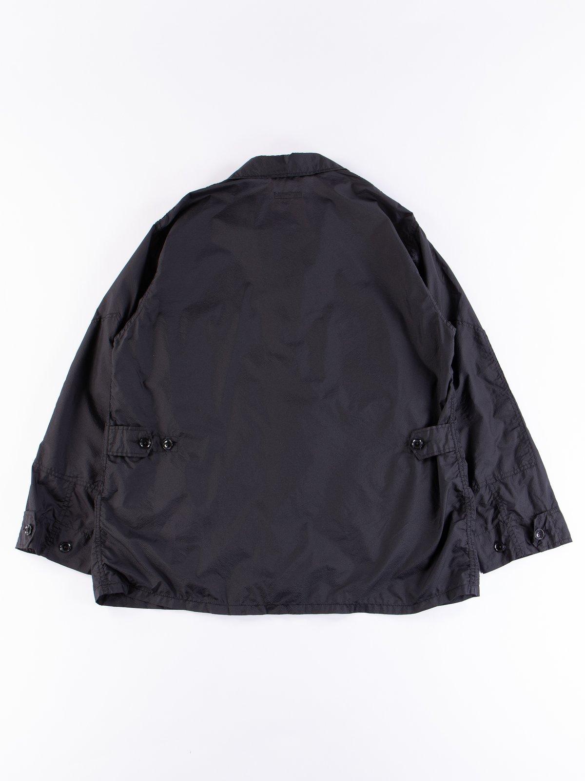 Black Nylon Micro Ripstop BDU Jacket - Image 5