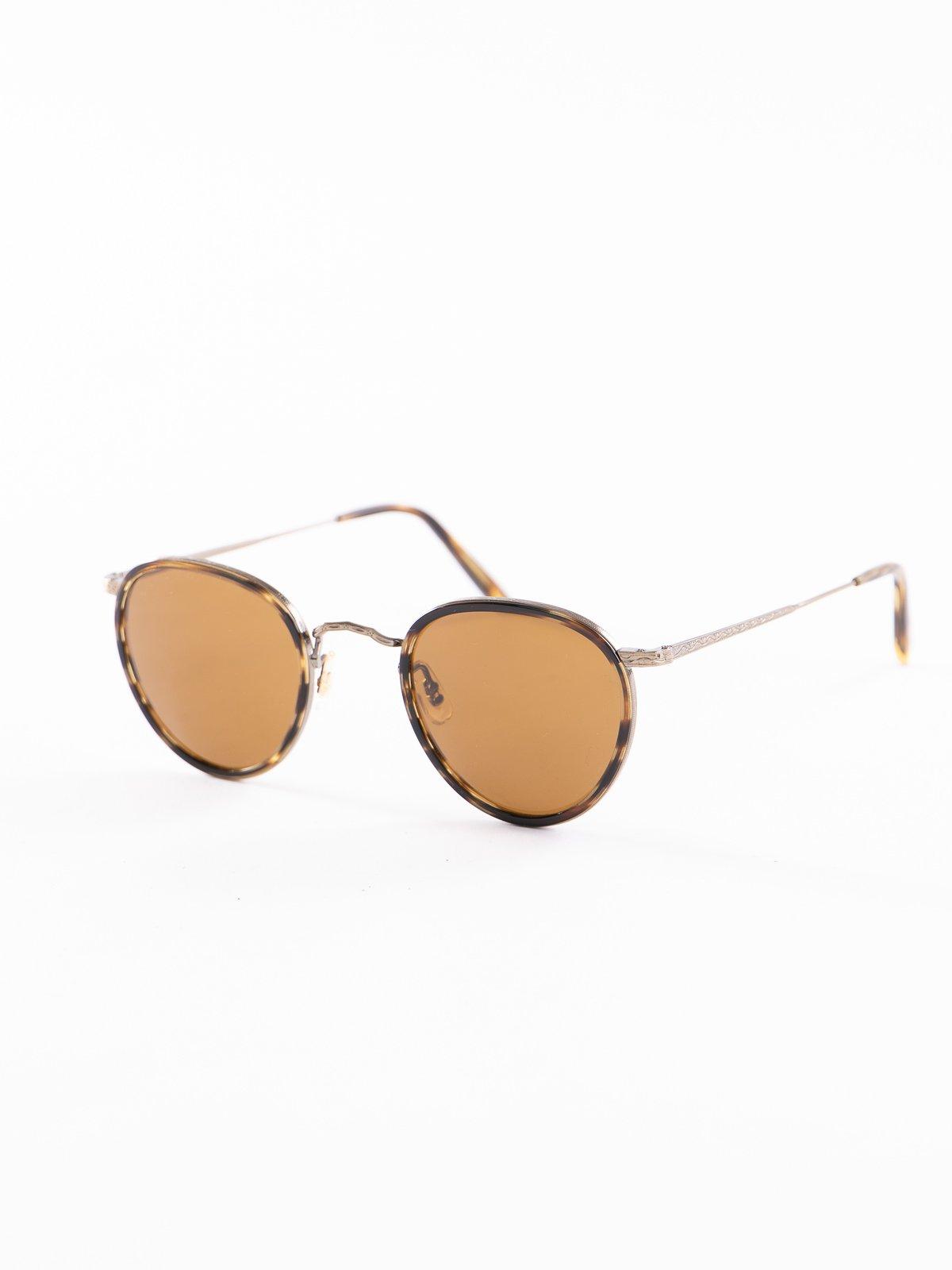 Cocobolo–Antique Gold/Brown MP–2 Sunglasses - Image 2