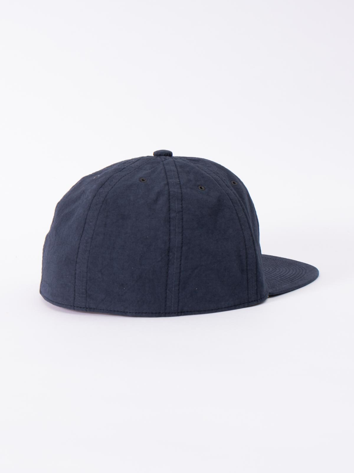 NAVY SPECIAL DYED COTTON / LINEN CAP - Image 2