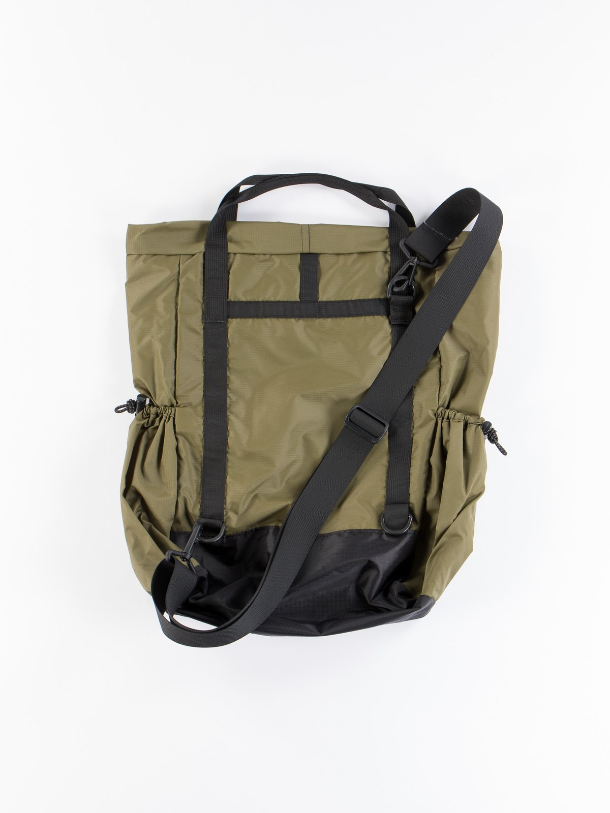 Olive Nylon Ripstop UL 3 Way Bag - Image 3