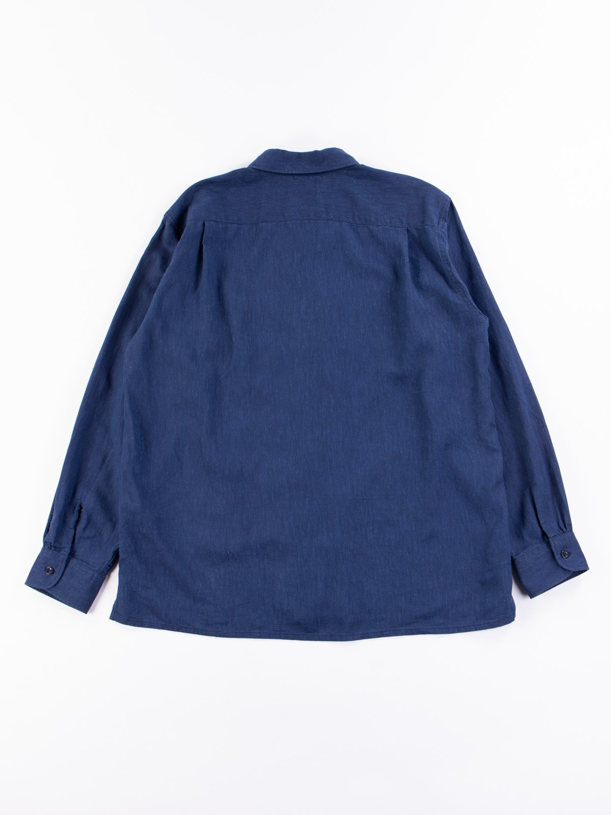 Navy CL Solid Classic Shirt - Image 6