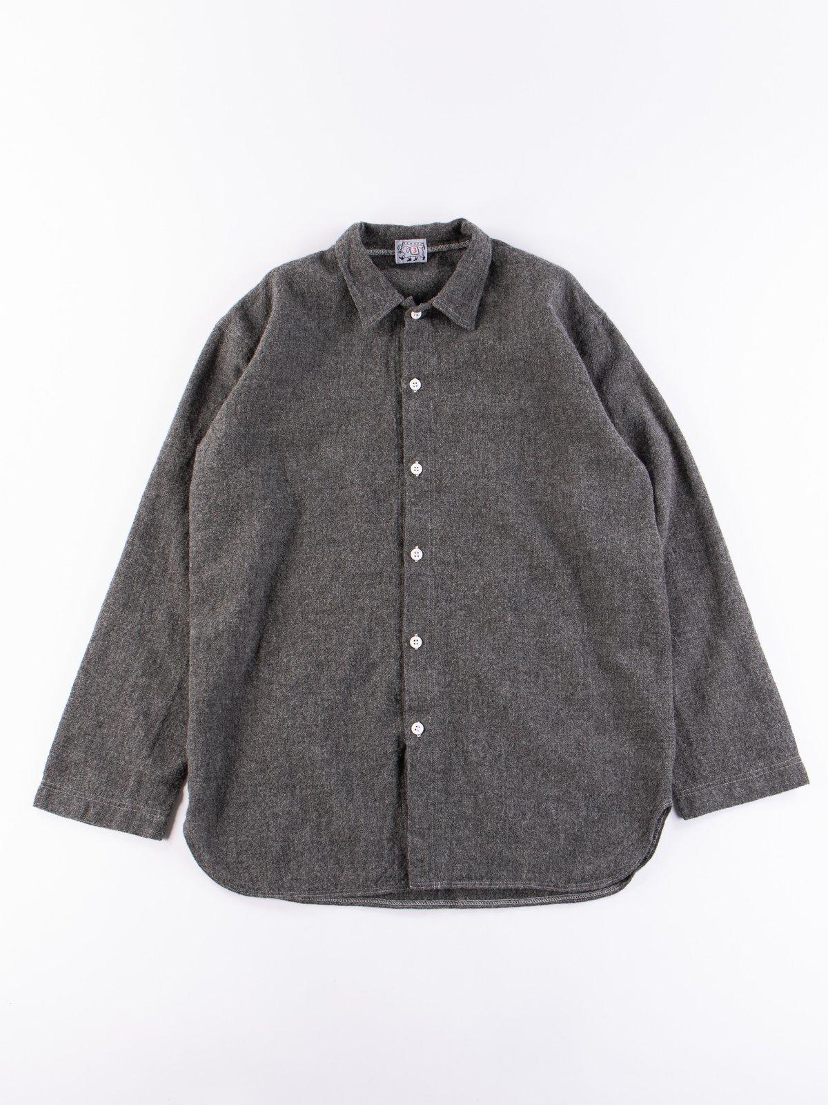 Charcoal Weavers Stock Tail Shirt - Image 1