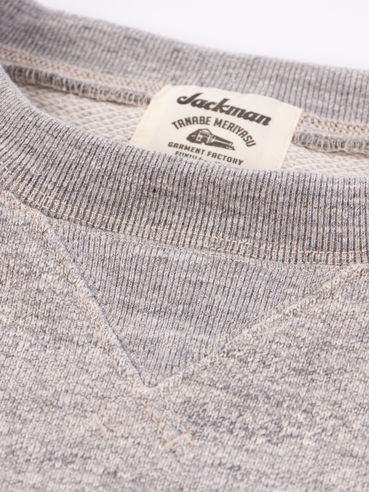 Heather Grey GG Crewneck Sweat - Image 5