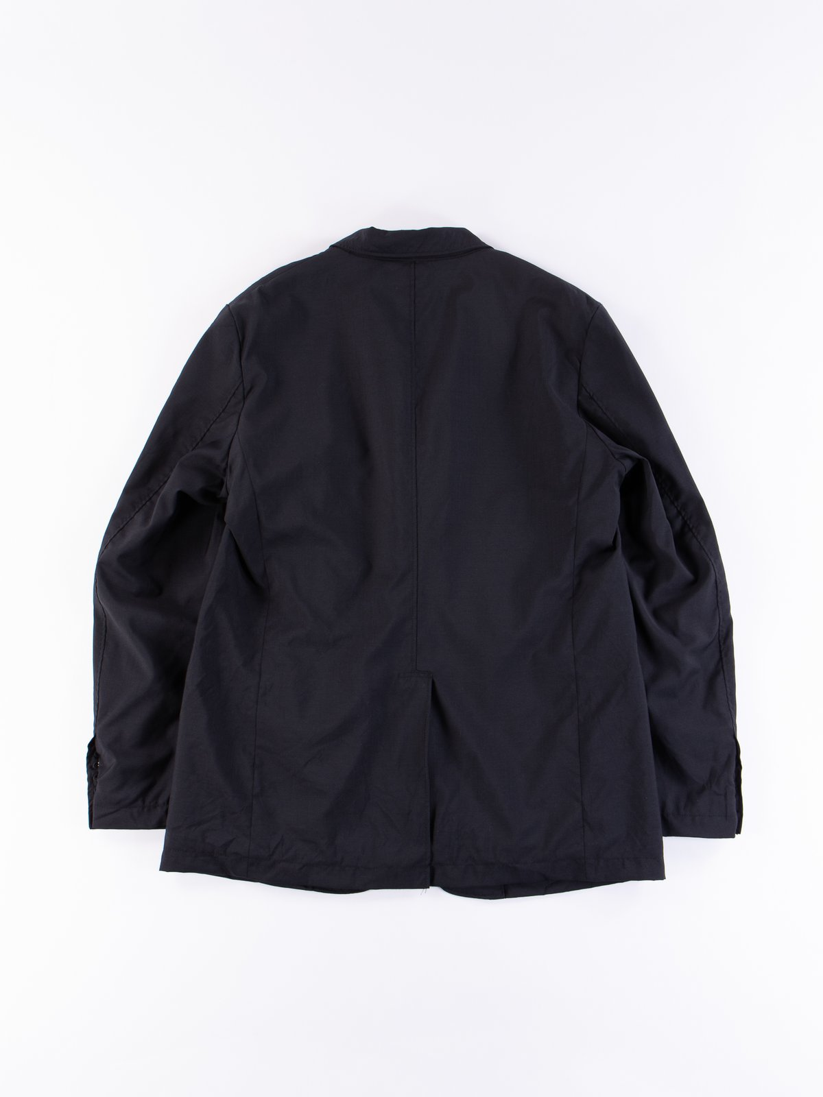 Dark Navy Tropical Wool Andover Jacket - Image 5