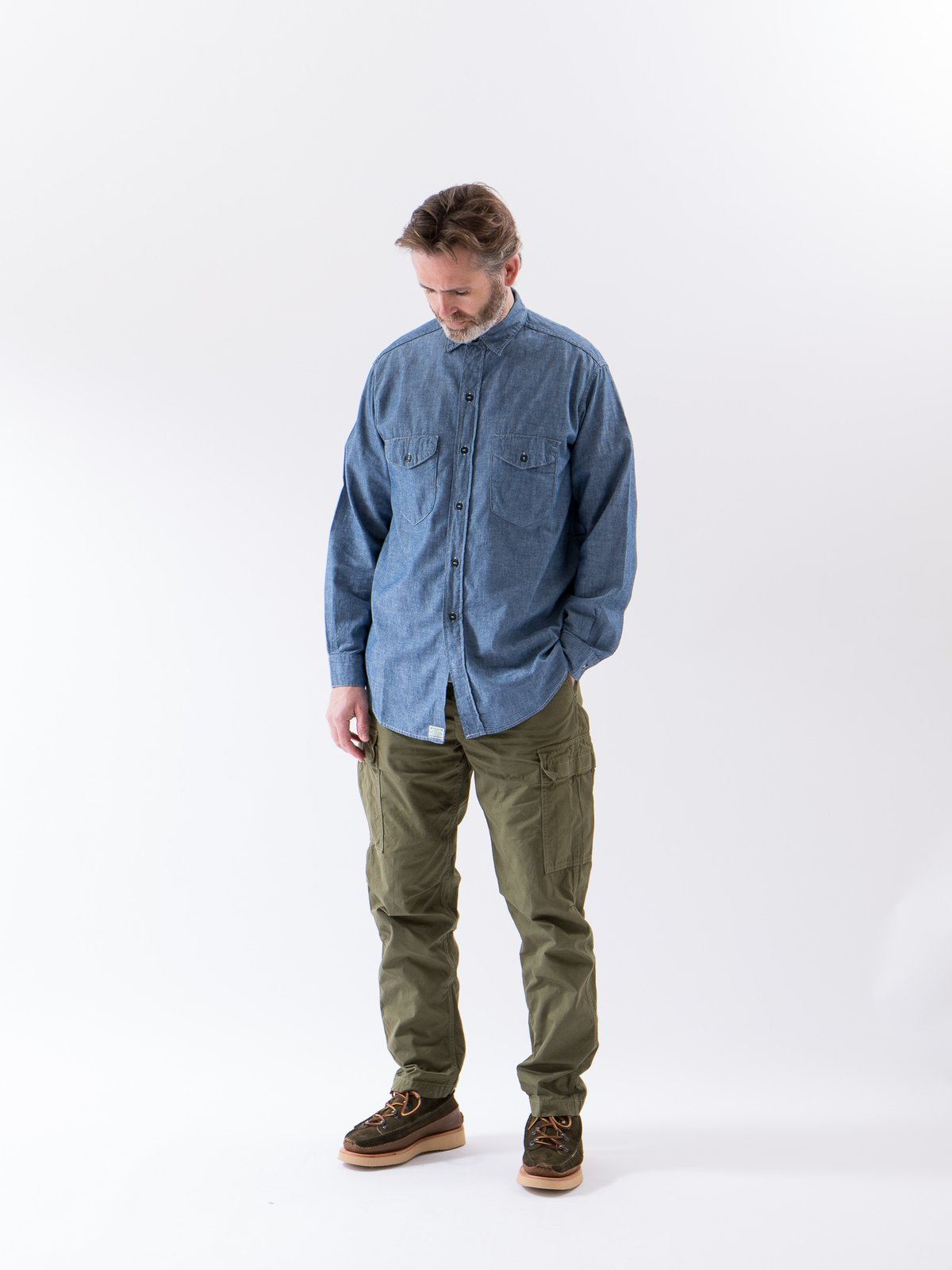 Army Weather Cloth Easy Cargo Pant - Image 3