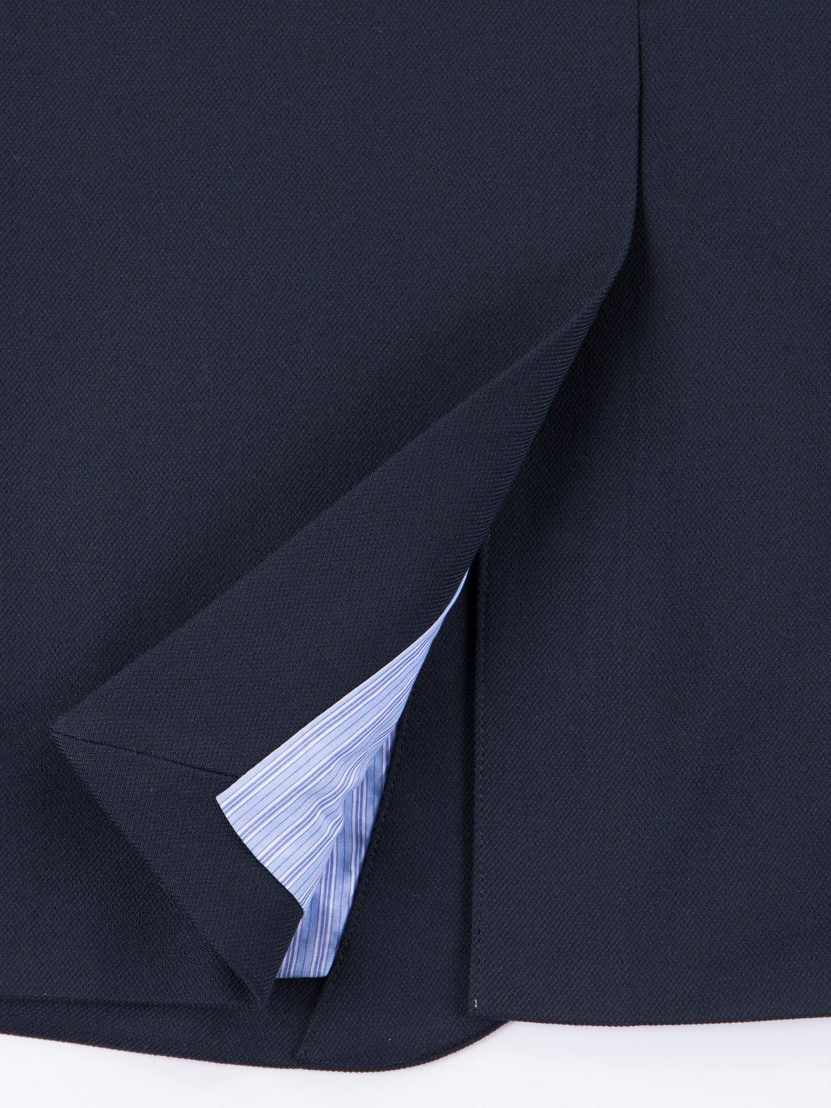 Dark Navy Lounge Jacket - Image 5
