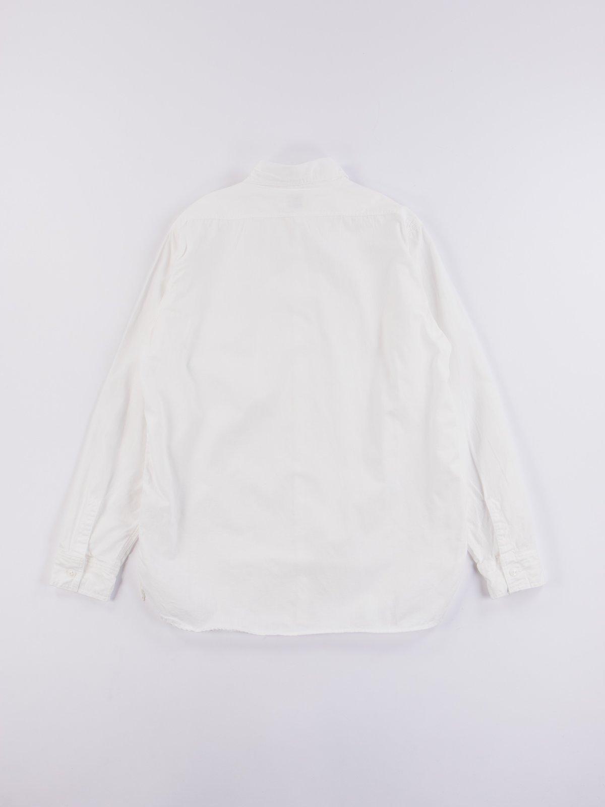 White Chambray Work Shirt - Image 5