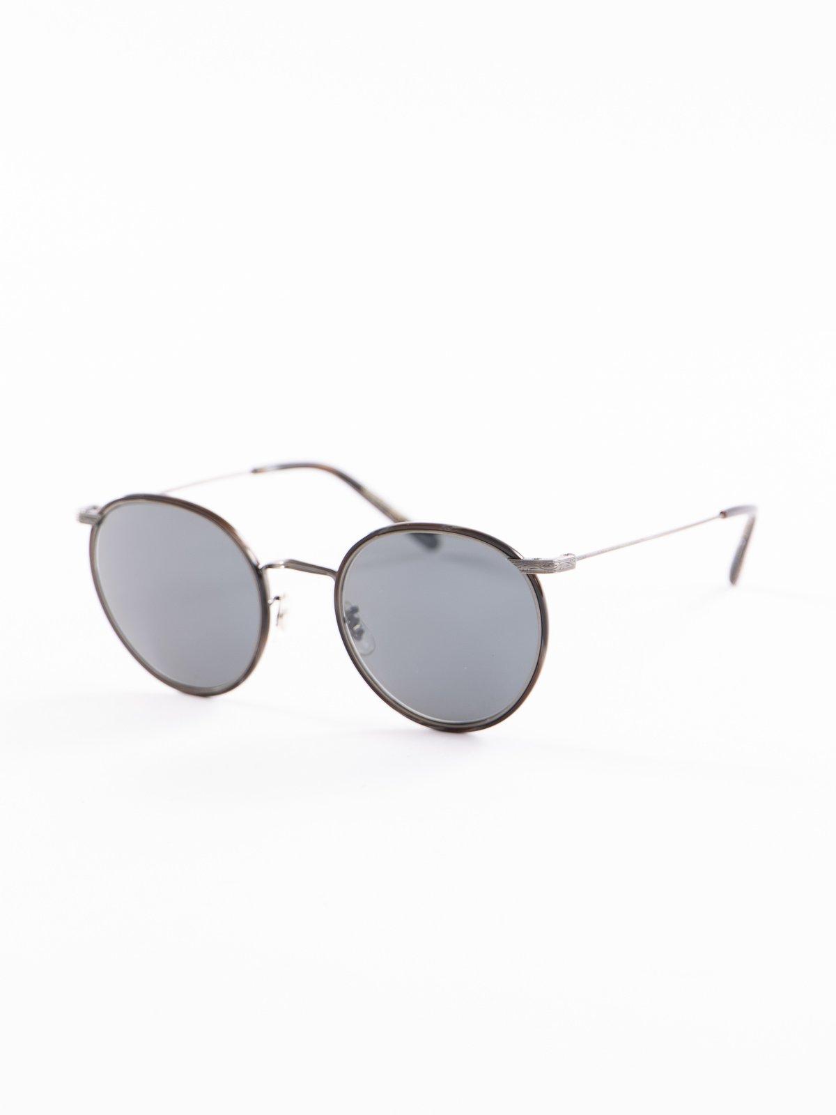 Pewter–Black Horn/Carbon Grey Casson Sunglasses - Image 2