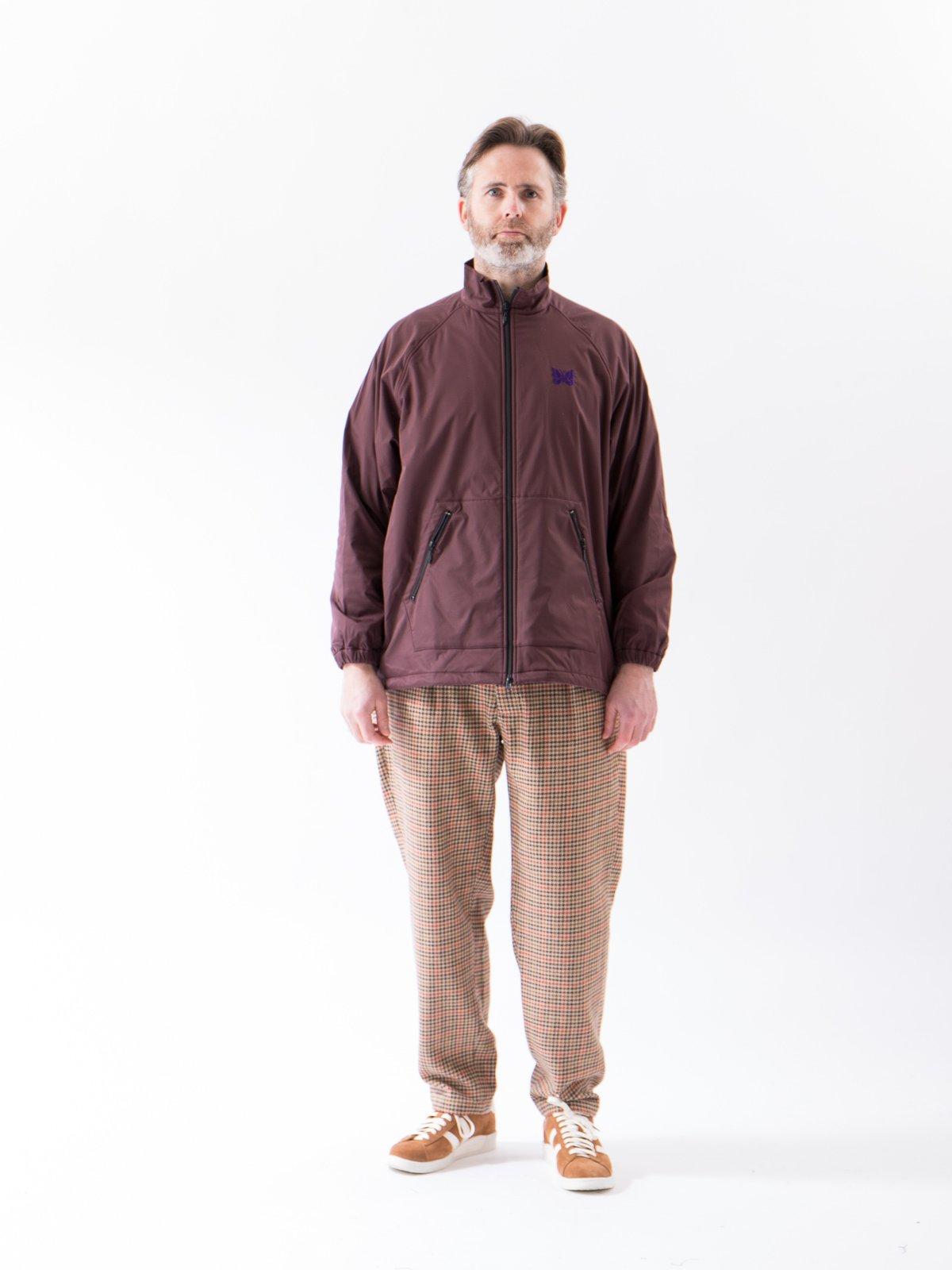 Bordeaux Jog Jacket - Image 2