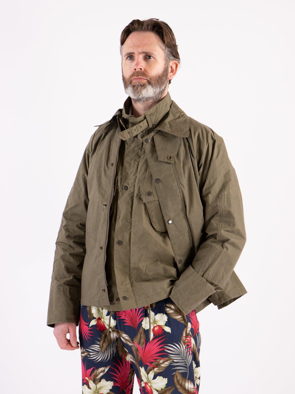 Olive Unlined Graham Jacket - Image 2