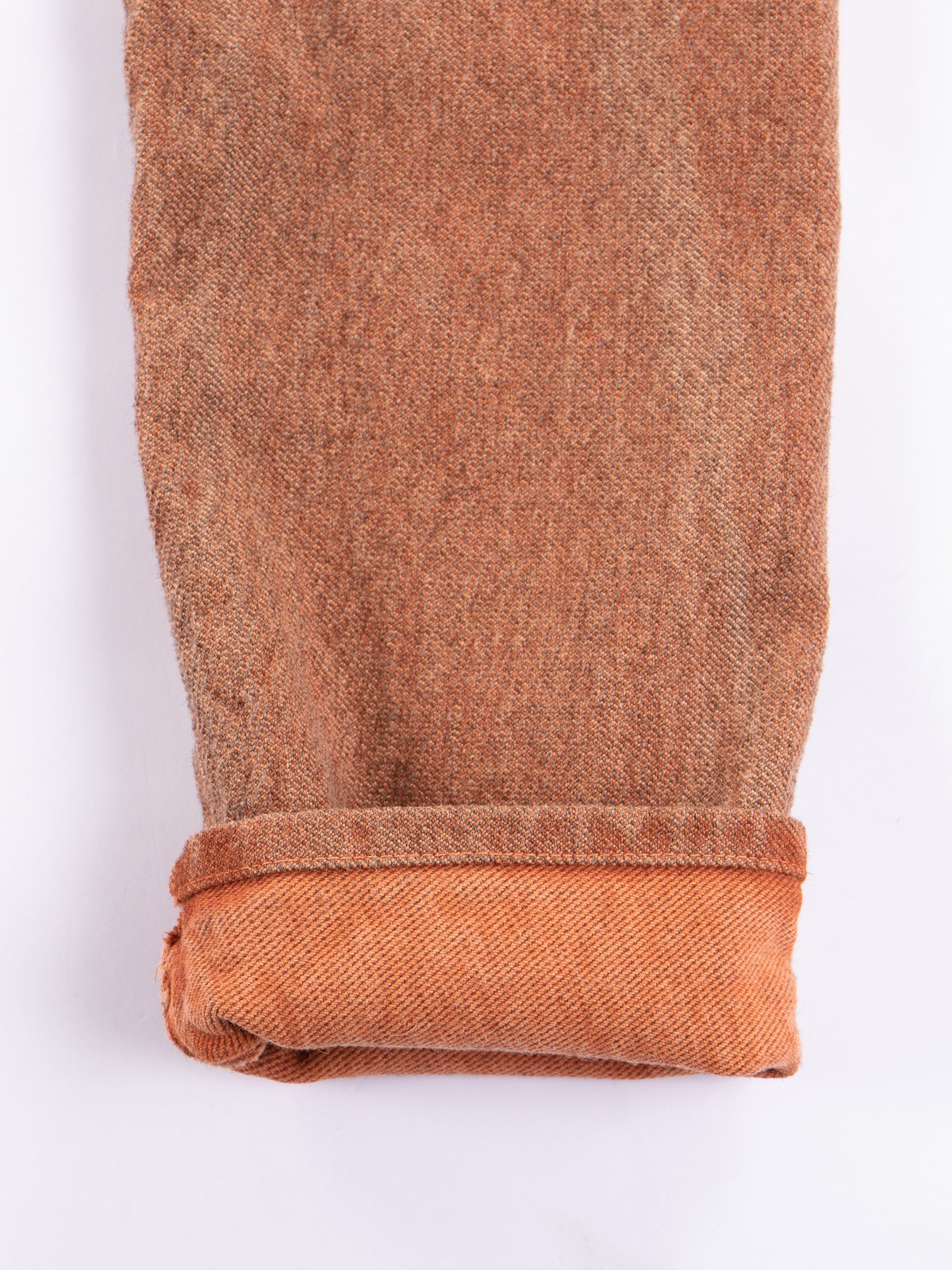 Red Ochre Dye Tapered Jean - Image 4
