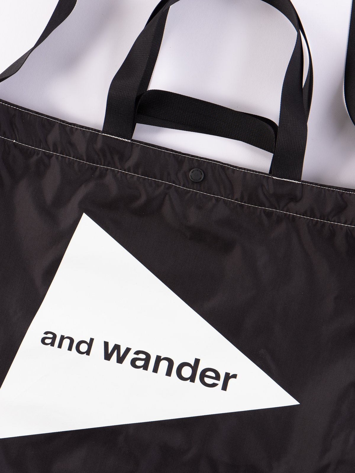 Black Large Logo Tote Bag - Image 2