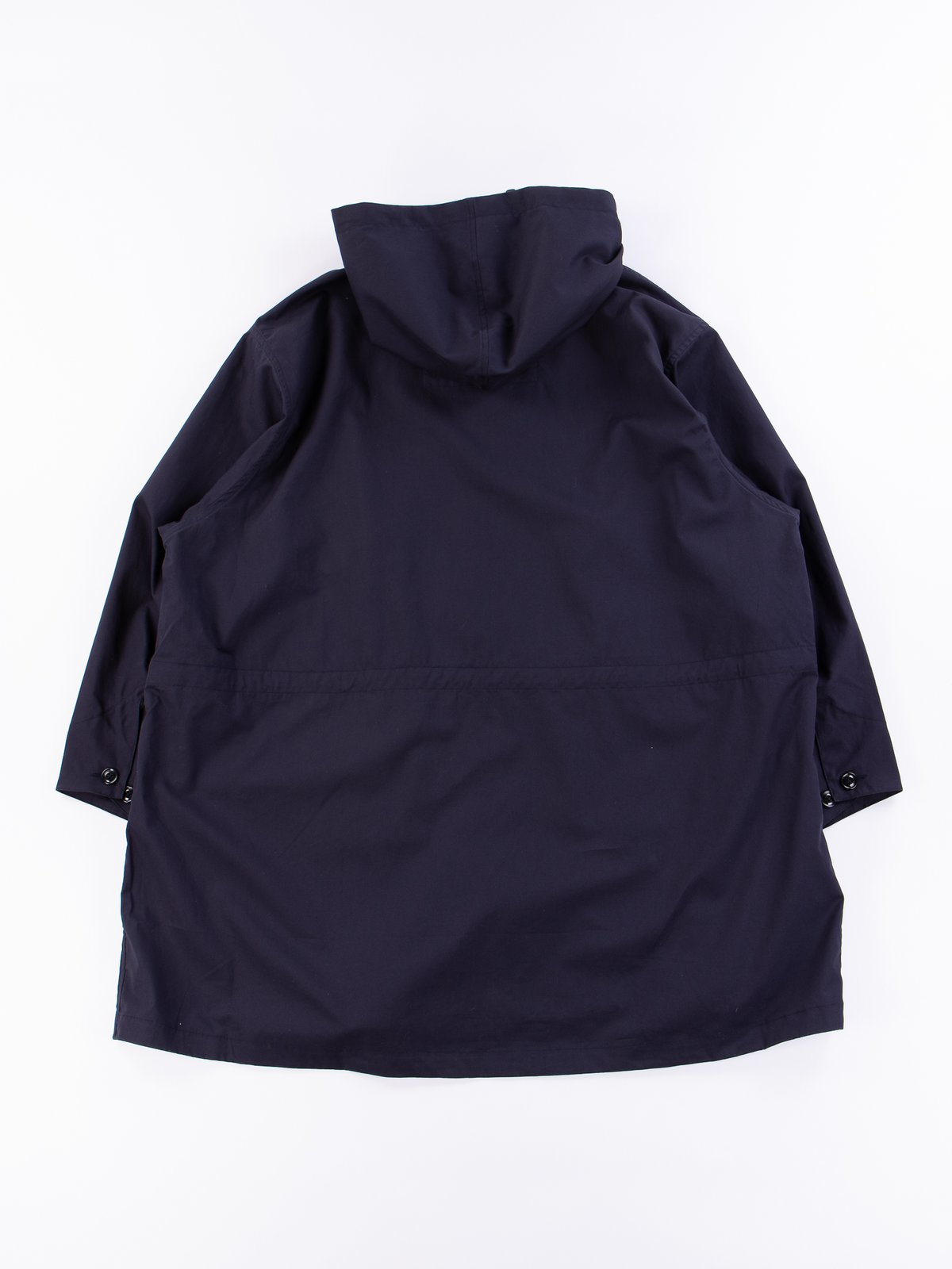 Navy Oxford Vancloth Czech Coat - Image 6