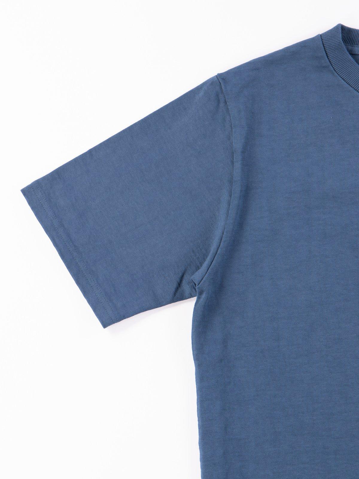 Ash Blue Dotsume Pocket T–Shirt - Image 4
