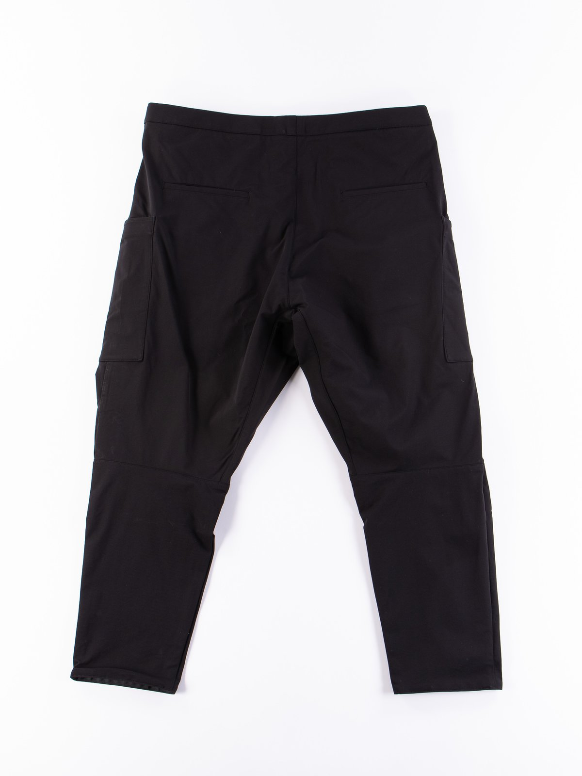 P31A–DS Black Schoeller Dryskin Drawcord Cargo Trouser - Image 5