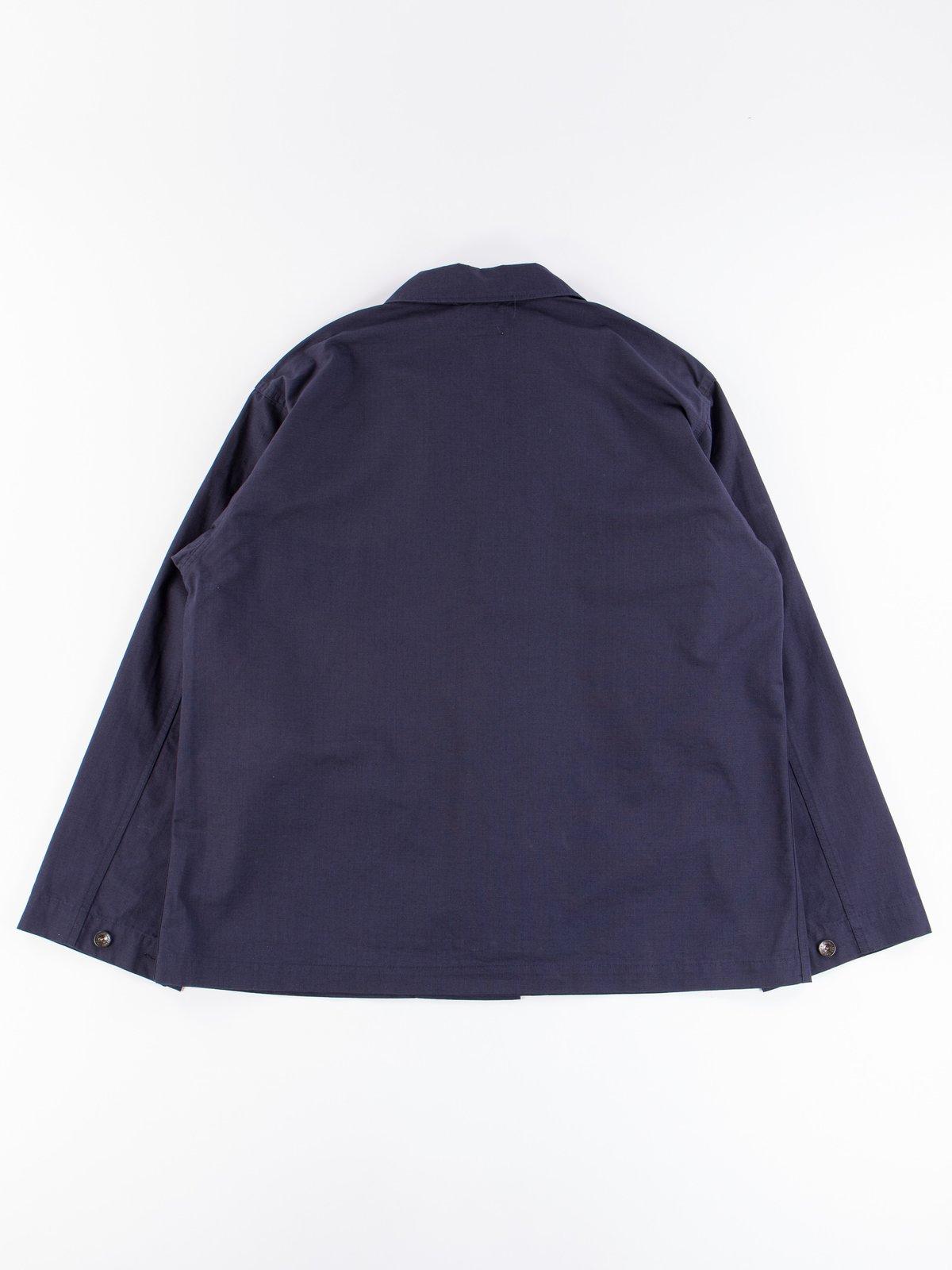 Dark Navy Cotton Ripstop M43/2 Shirt Jacket - Image 9