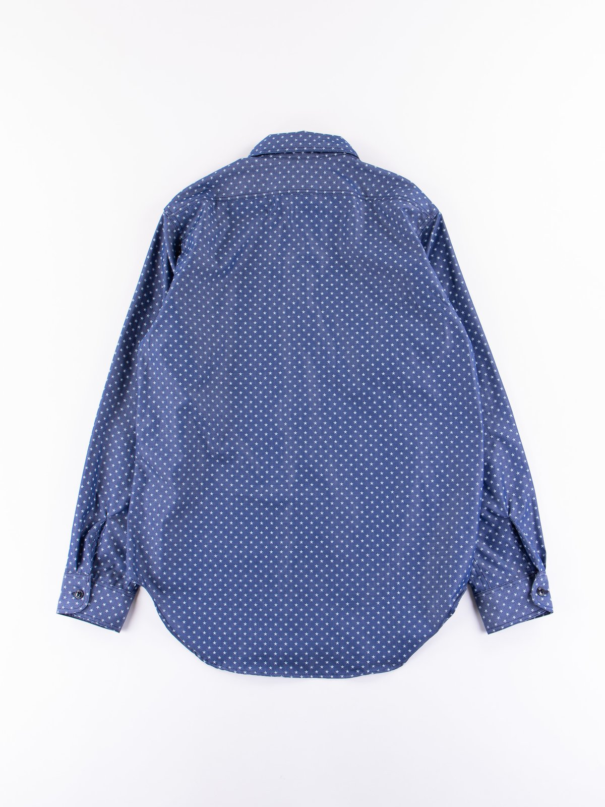 Navy Star Chambray Utility Shirt - Image 5