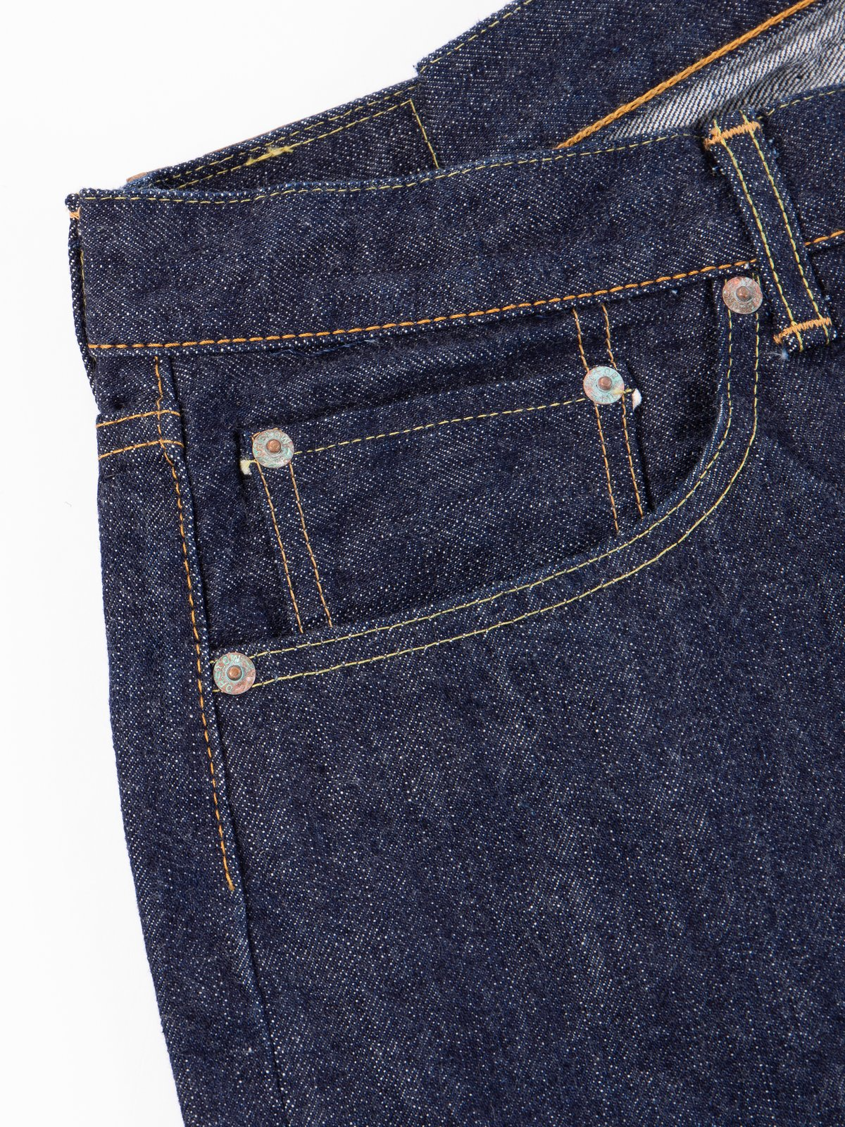 Indigo One Wash 105 Standard 5 Pocket Jean - Image 6