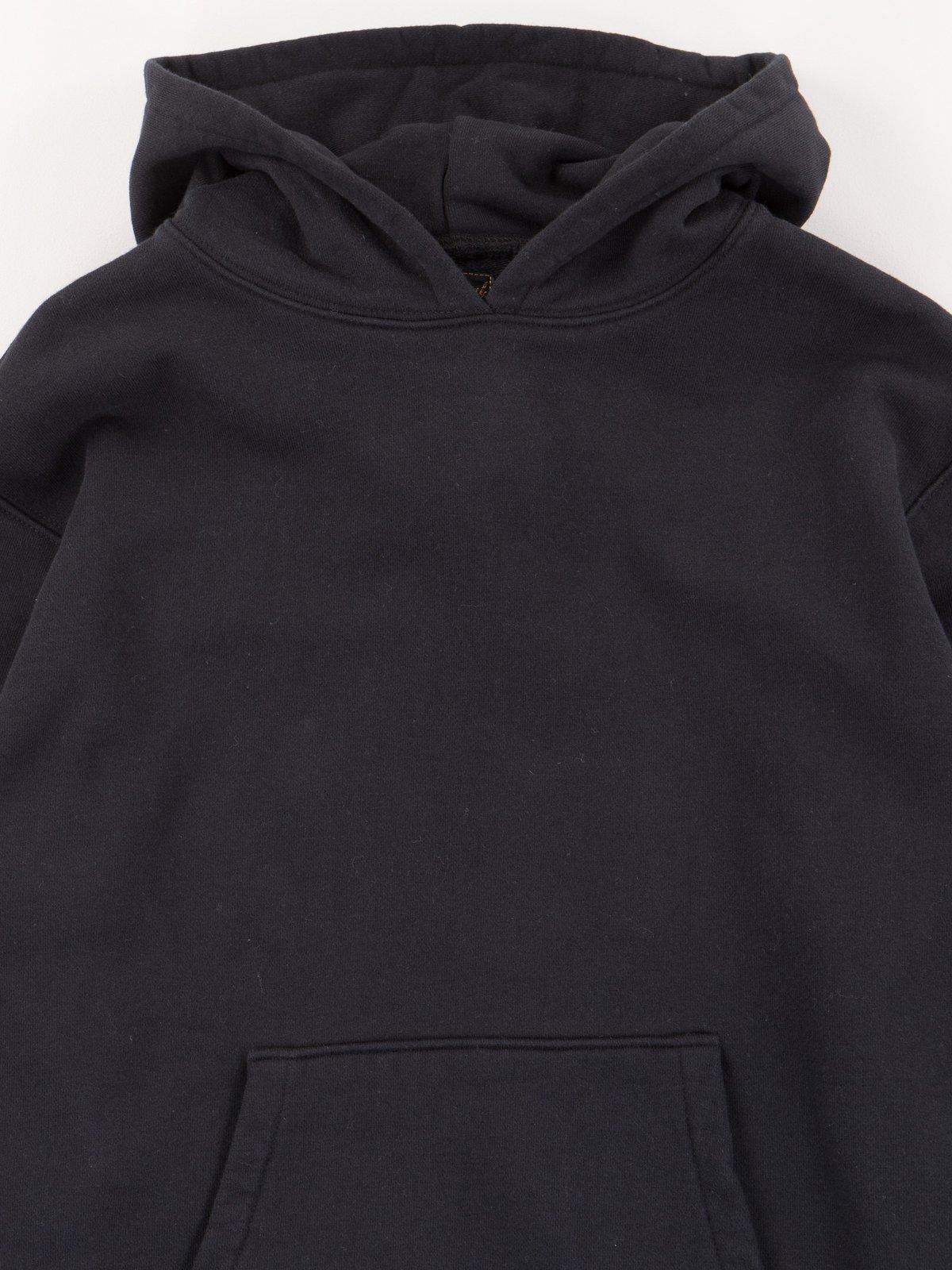Black Gusset Pullover Parka - Image 2