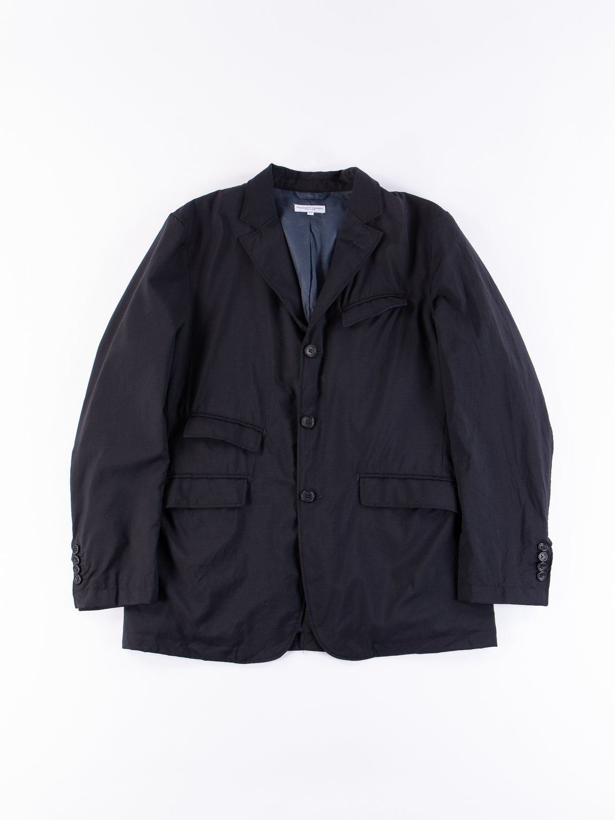 Dark Navy Tropical Wool Andover Jacket - Image 1